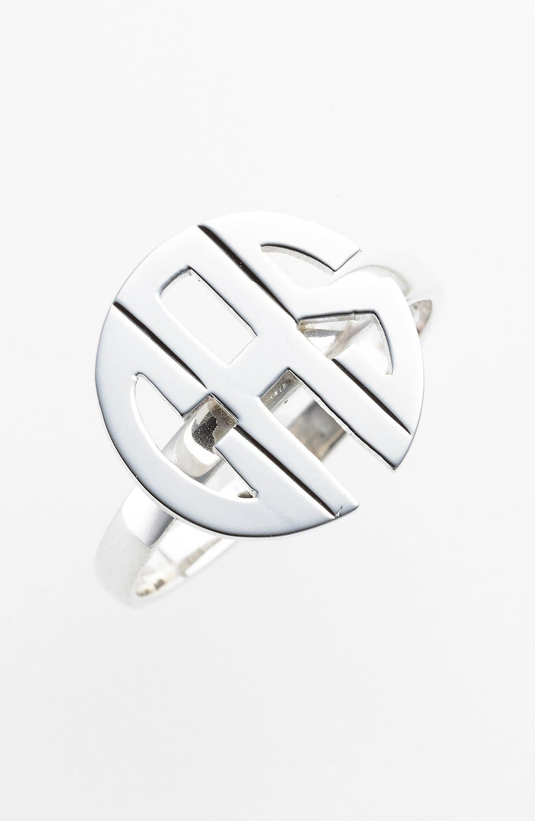 Jane Basch Designs Personalized Monogram Ring
