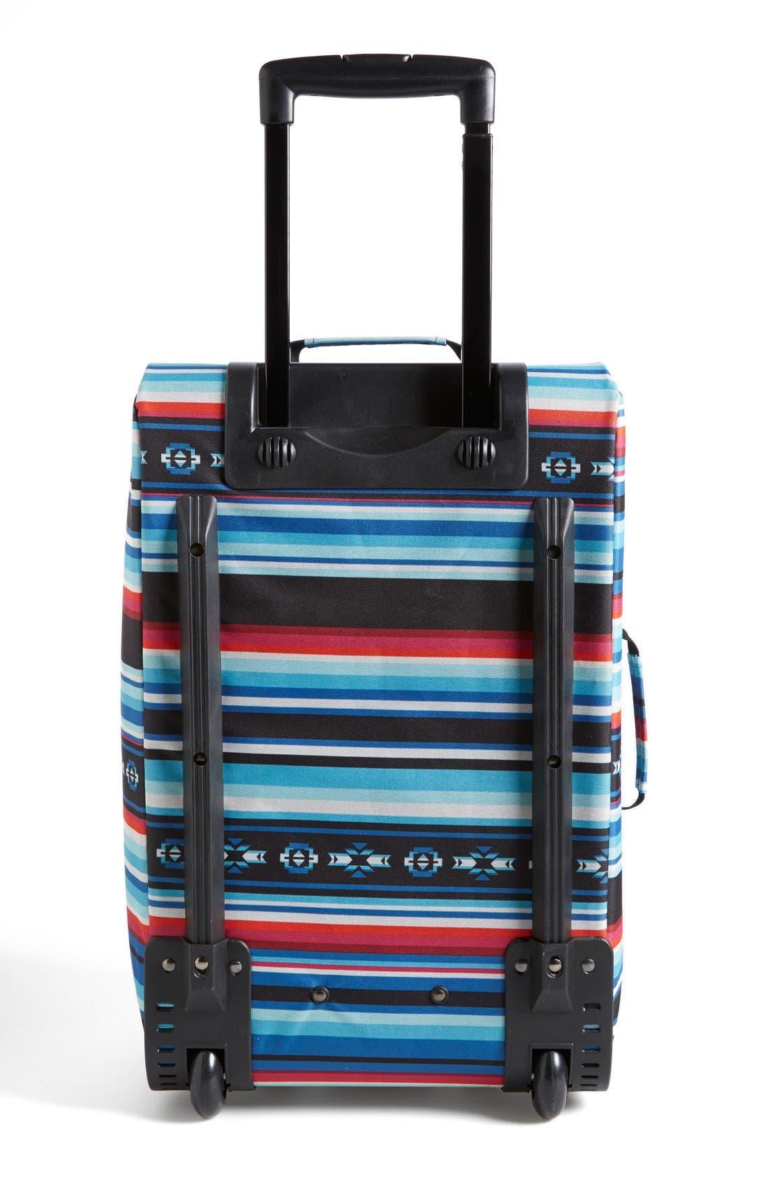 Alternate Image 4  - Billabong 'Salty Tidez' Print Wheeled Bag (Juniors)