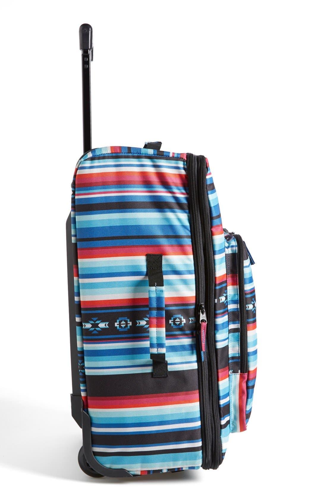 Alternate Image 3  - Billabong 'Salty Tidez' Print Wheeled Bag (Juniors)