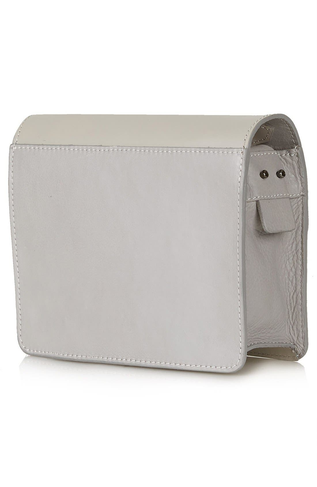 Alternate Image 3  - Topshop Premium Plate Shoulder Bag