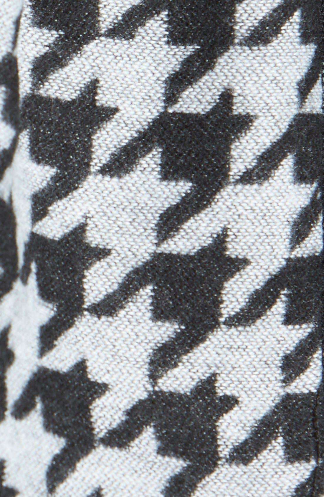 Alternate Image 2  - Nordstrom Houndstooth Scarf