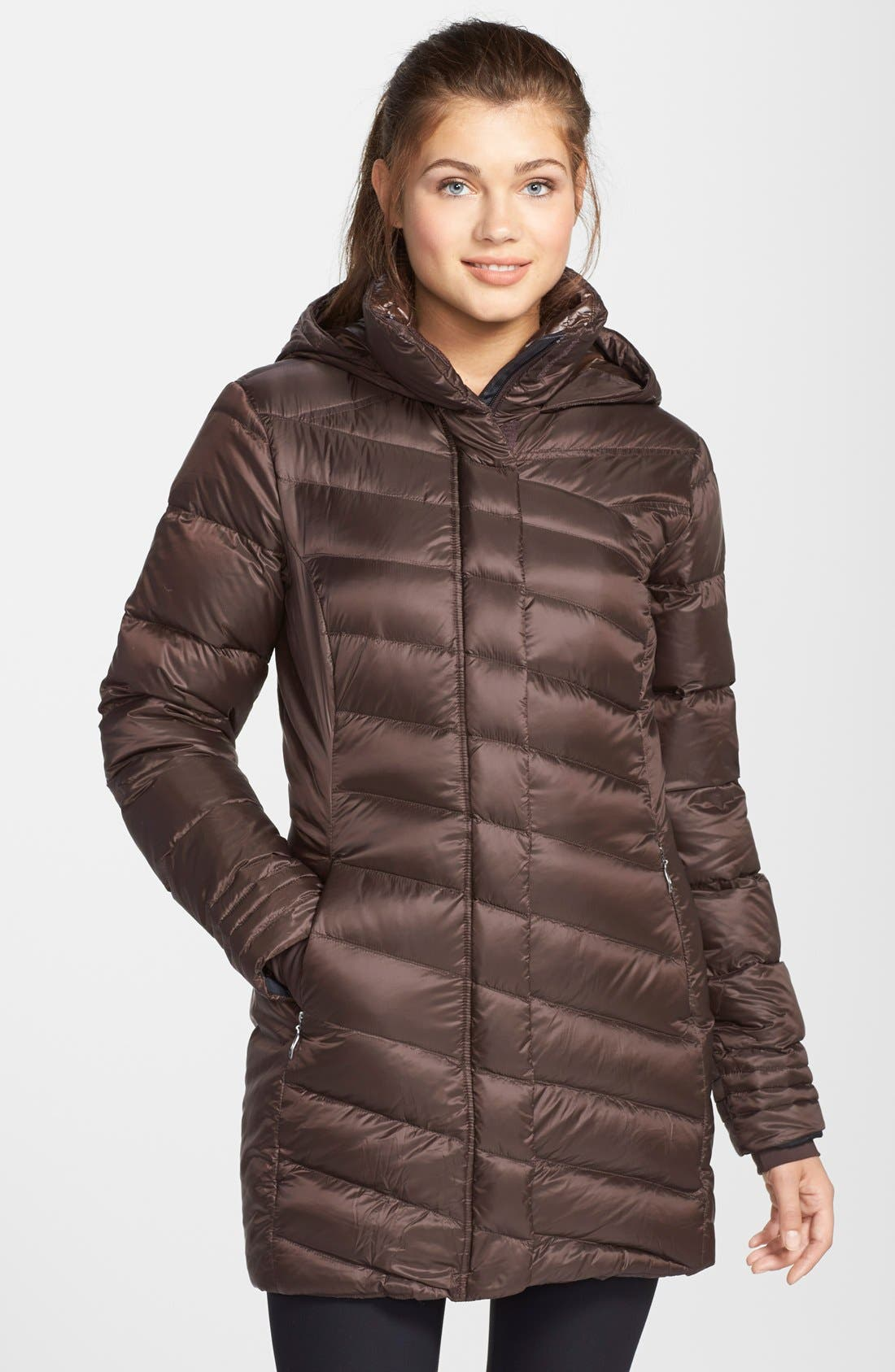 Alternate Image 1 Selected - Spyder 'Raven GT' Hooded Down Coat