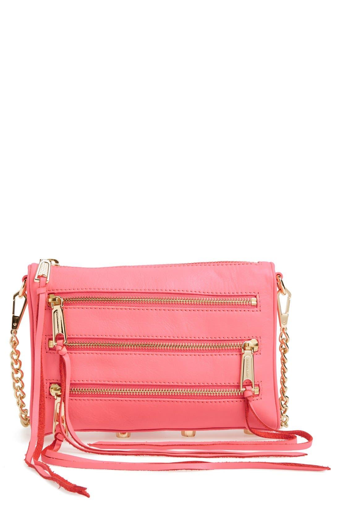 Alternate Image 1 Selected - Rebecca Minkoff 'Mini 5 Zip' Convertible Crossbody Bag