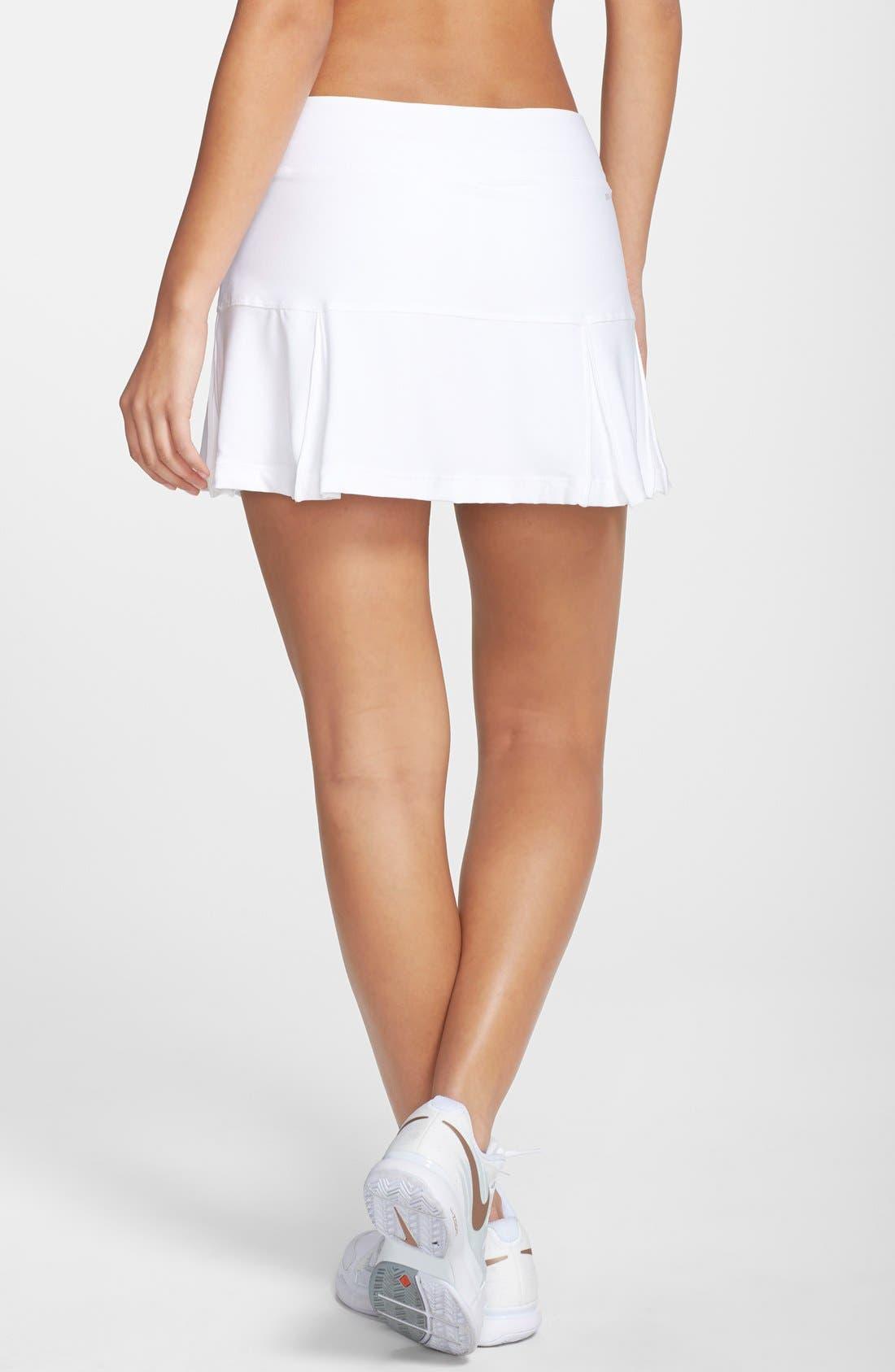 Alternate Image 2  - Nike Pleated Dri-FIT Tennis Skirt