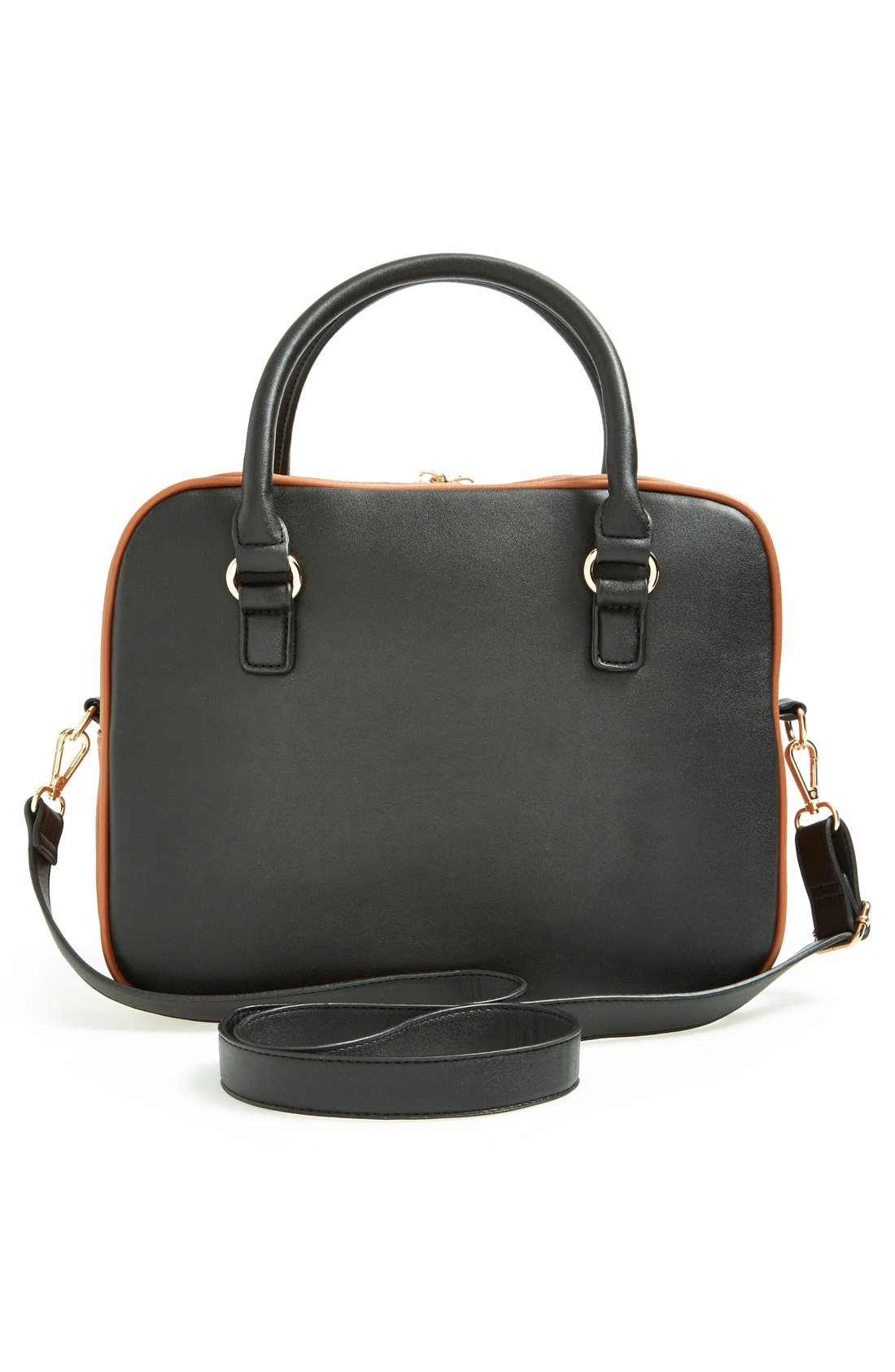 Alternate Image 4  - kensie 'Block Party' Color Block Handbag