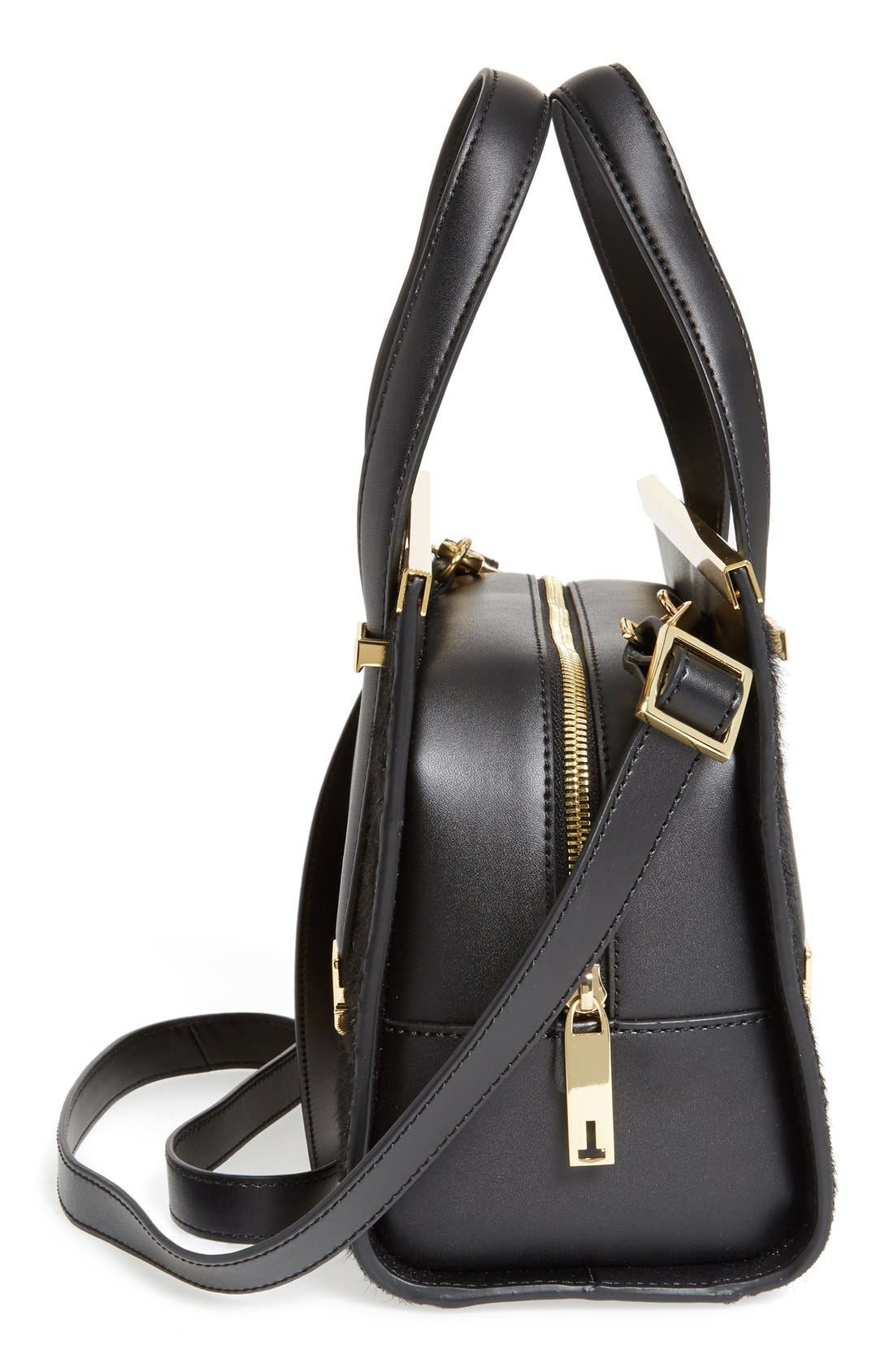 Alternate Image 5  - Ted Baker London 'Minipel' Textured Metal Tote