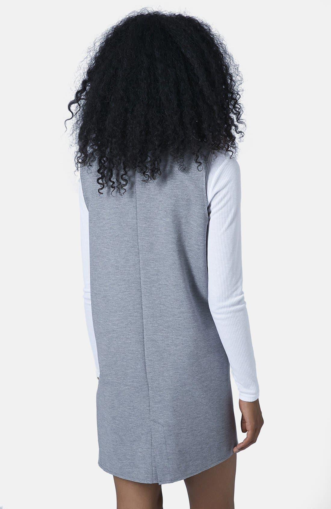 Alternate Image 2  - Topshop Long Utility Vest