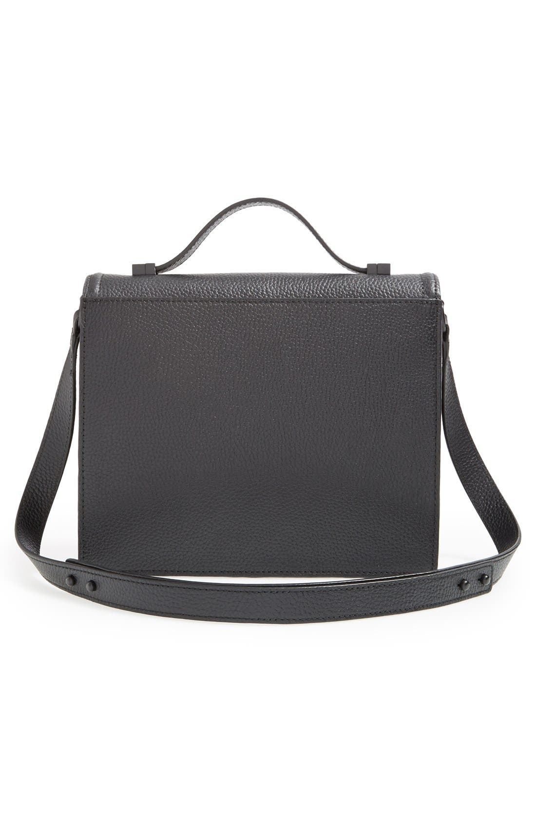Alternate Image 6  - Loeffler Randall 'Medium Rider' Leather Top Handle Satchel