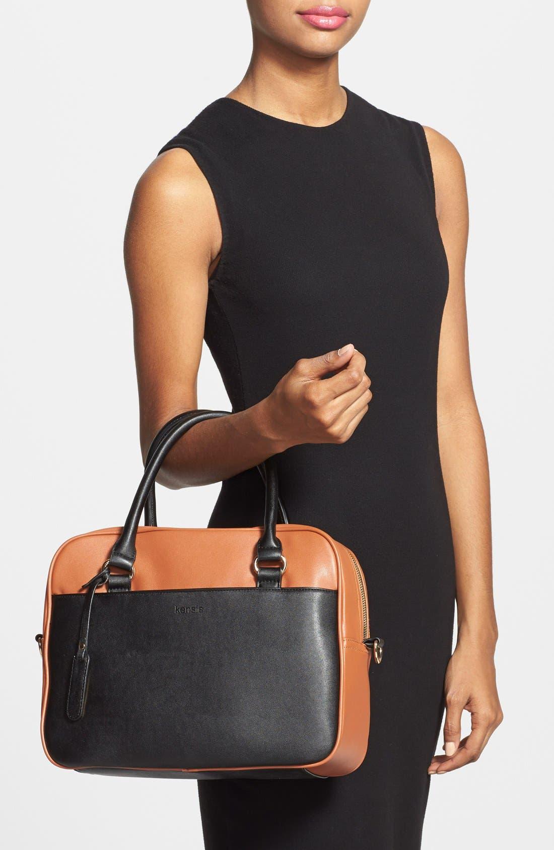 Alternate Image 2  - kensie 'Block Party' Color Block Handbag