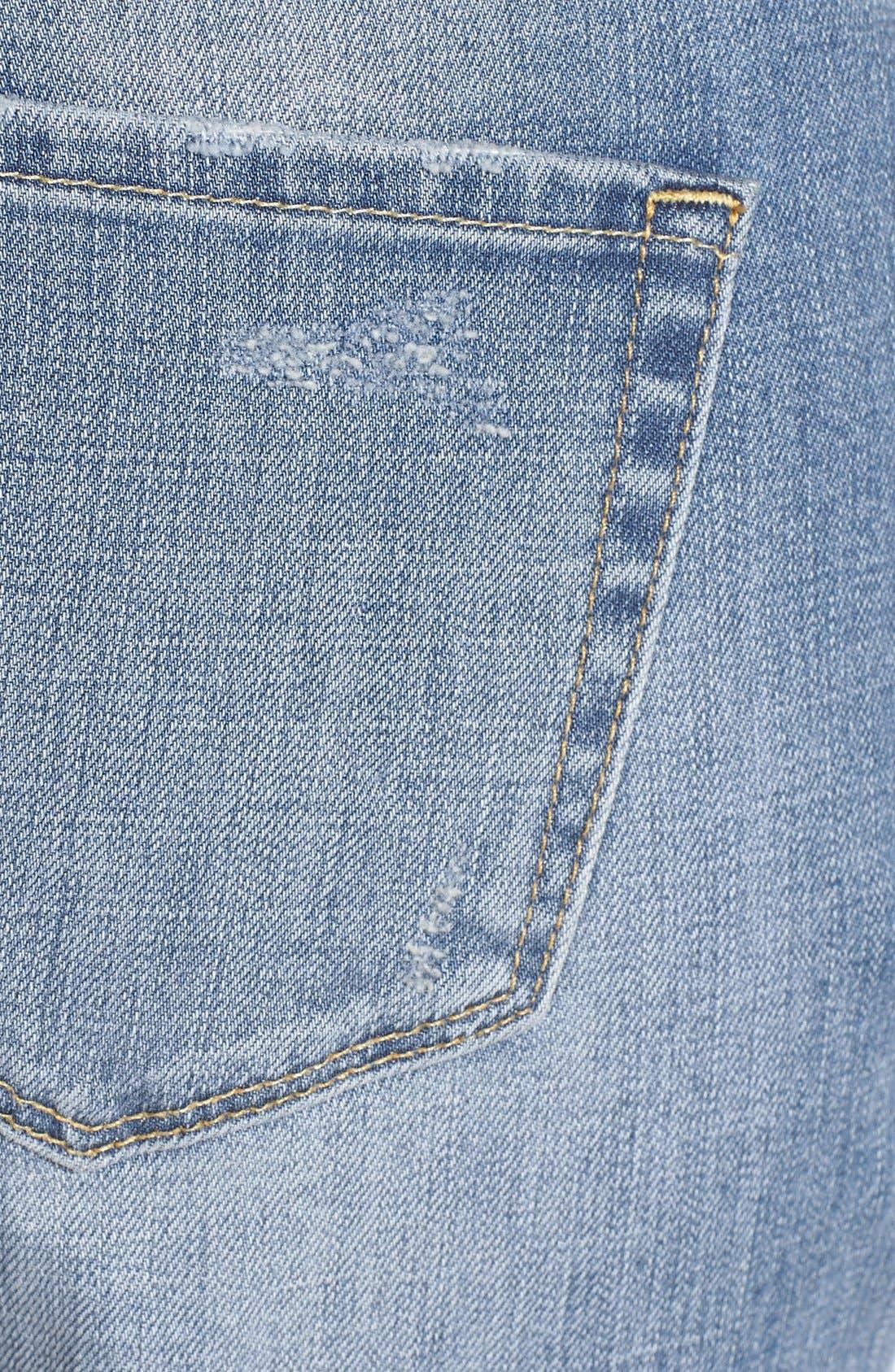 Alternate Image 3  - Treasure&Bond Denim Boyfriend Jeans (Light Vintage Wash)
