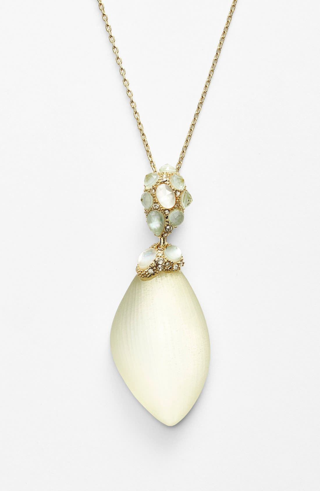 Alternate Image 1 Selected - Alexis Bittar 'Lucite®' Encrusted Pendant Necklace