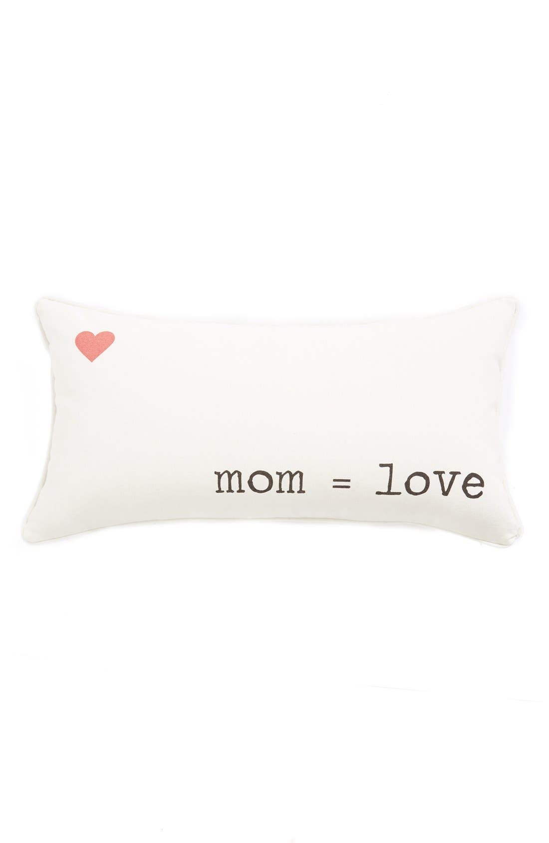 Alternate Image 1 Selected - Levtex 'Mom = Love' Pillow