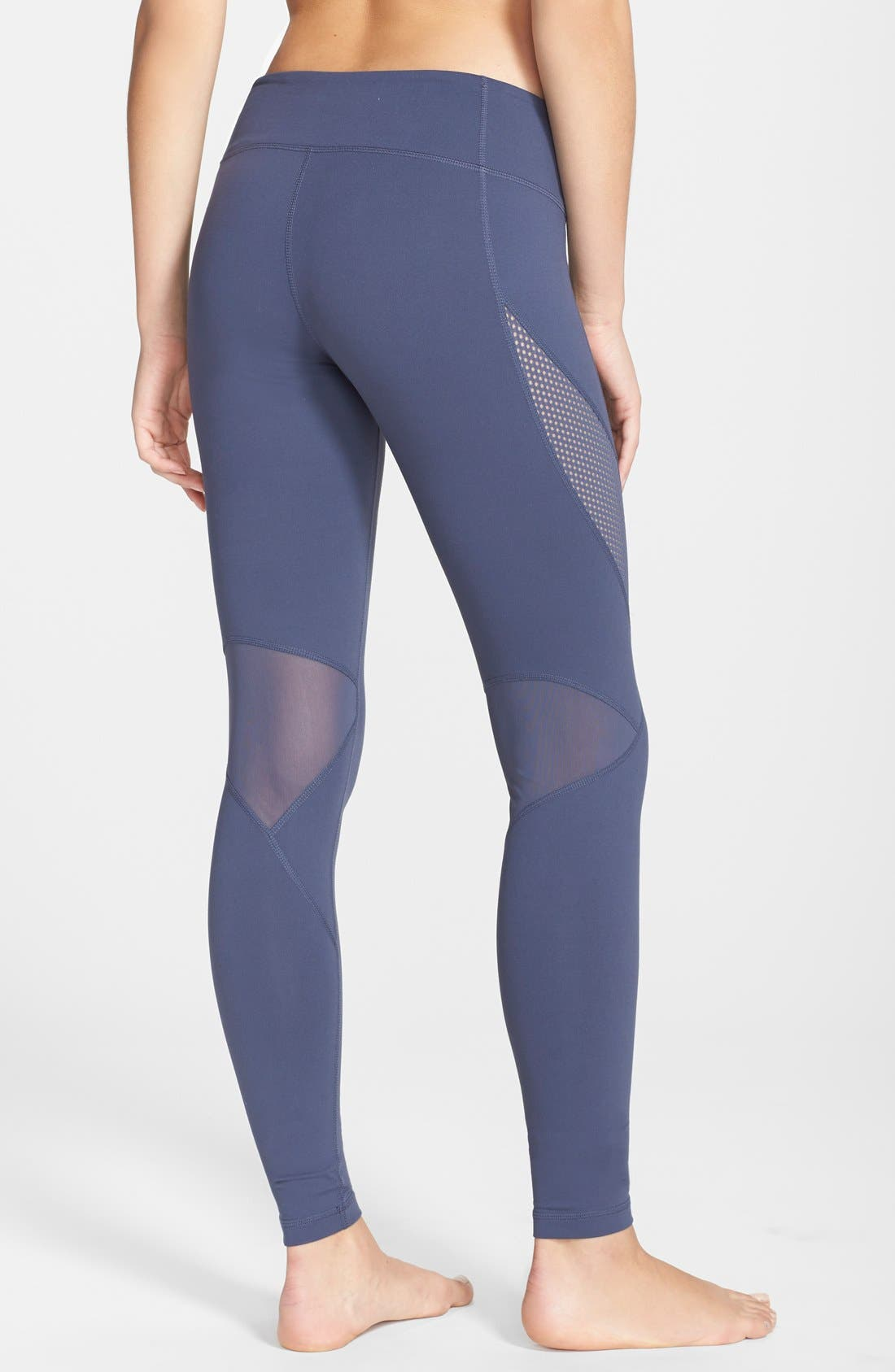 Alternate Image 2  - Zella 'Optic Mesh' Leggings