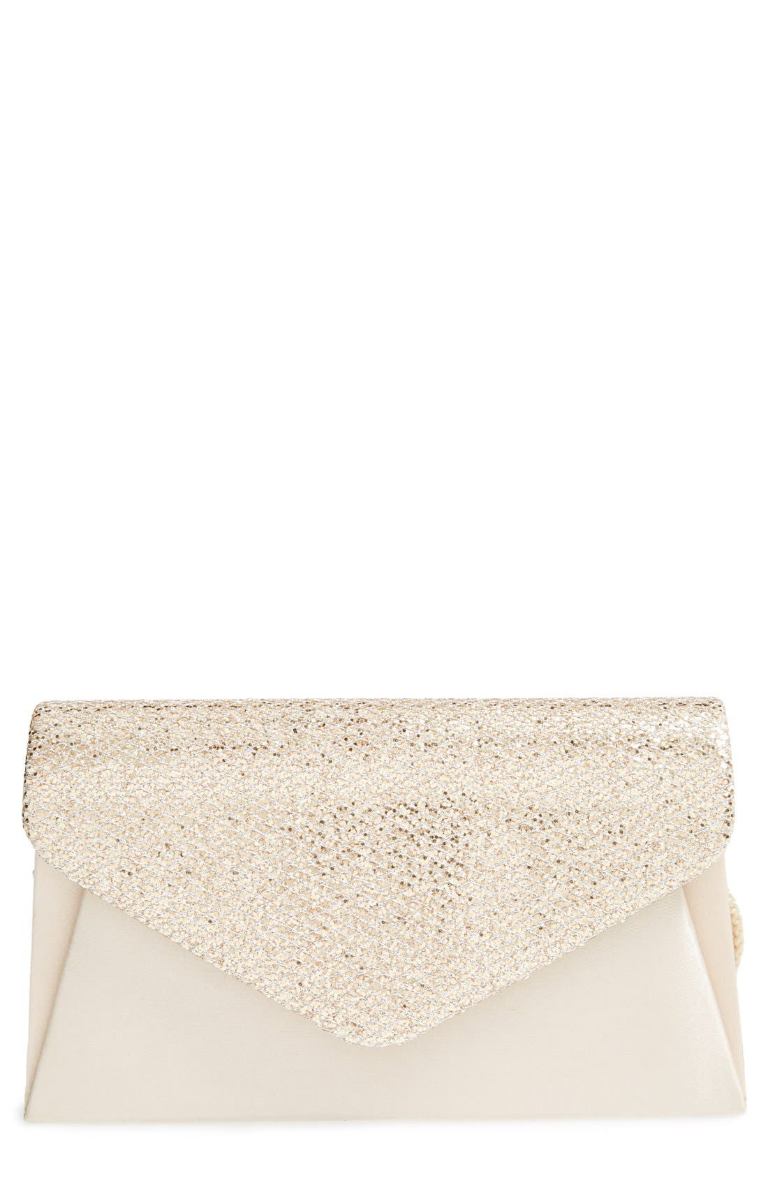 Alternate Image 1 Selected - Jessica McClintock 'Glitz' Envelope Clutch