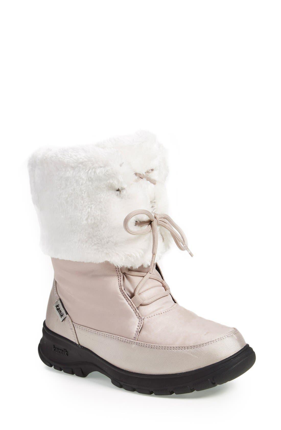 Alternate Image 1 Selected - Kamik 'Seattle' Fuzzy Boot (Women)