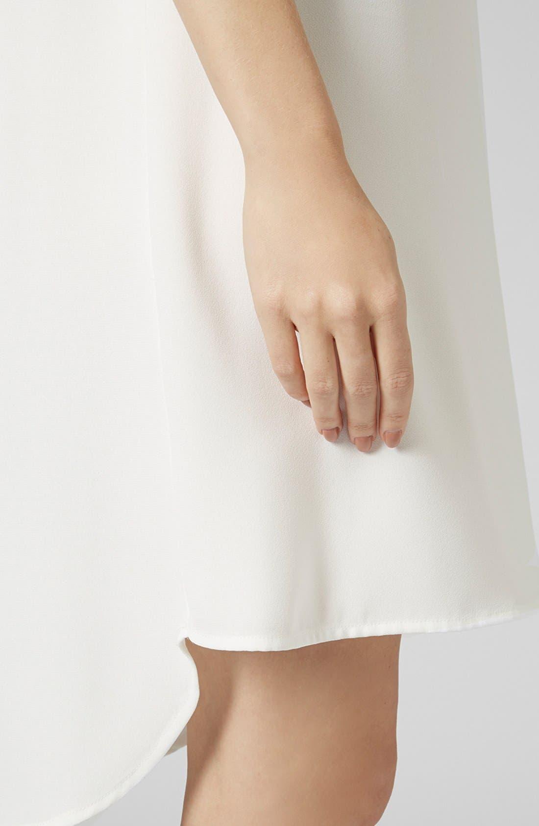 Alternate Image 3  - Topshop Mock Neck Tunic Dress