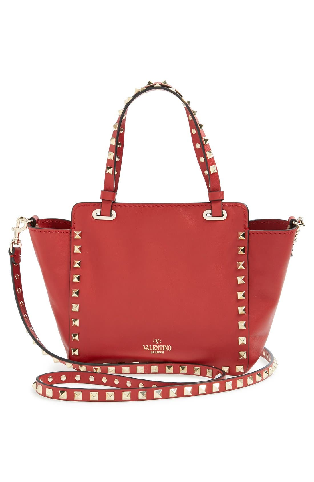 Alternate Image 3  - Valentino 'Micro Mini Rockstud' Leather Tote