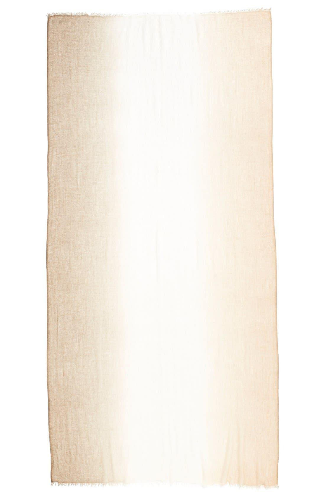 Alternate Image 2  - Halogen® Ombré Cashmere Twill Wrap
