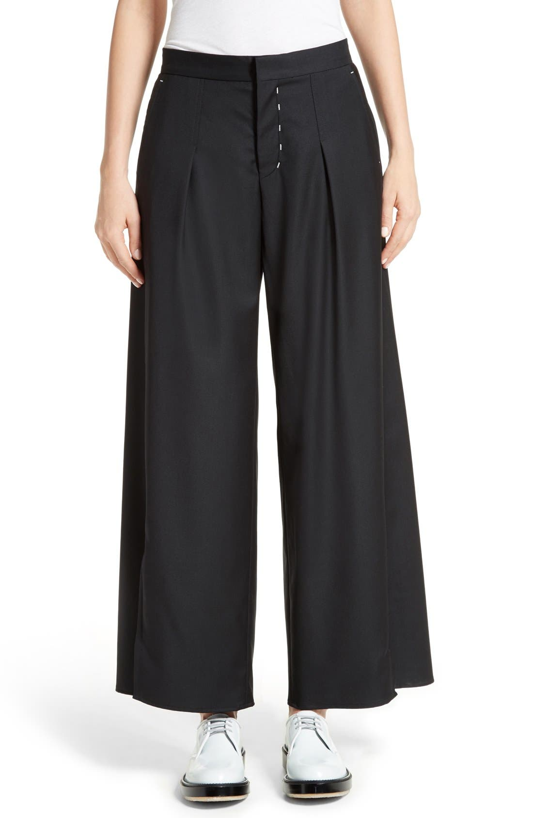 Colovos Seasonless Wide Leg Wool Pants