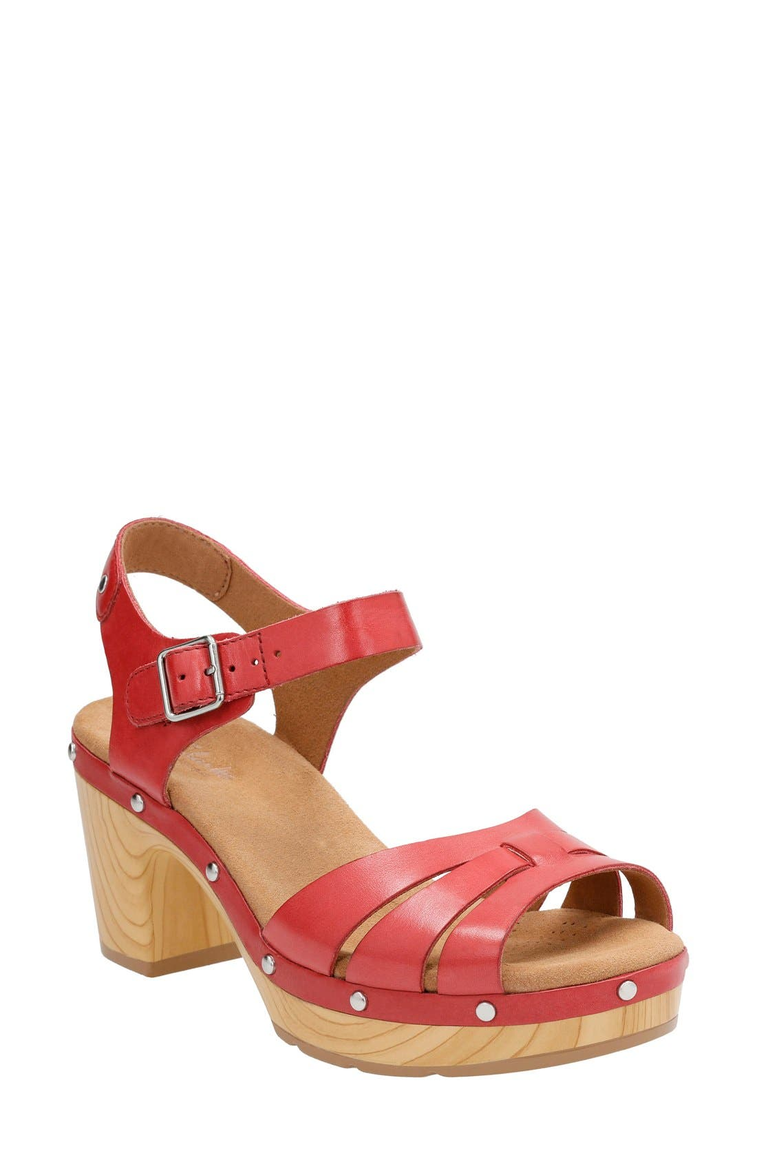 Clarks® 'Ledella Trail' Sandal (Women)
