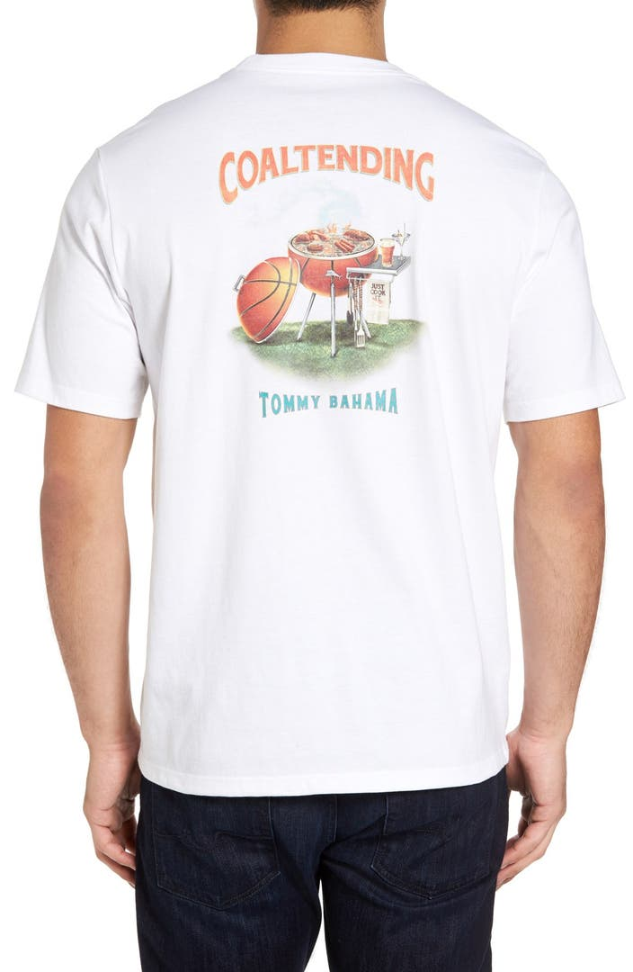 Tommy Bahama Coal Tending Graphic T Shirt Big Tall