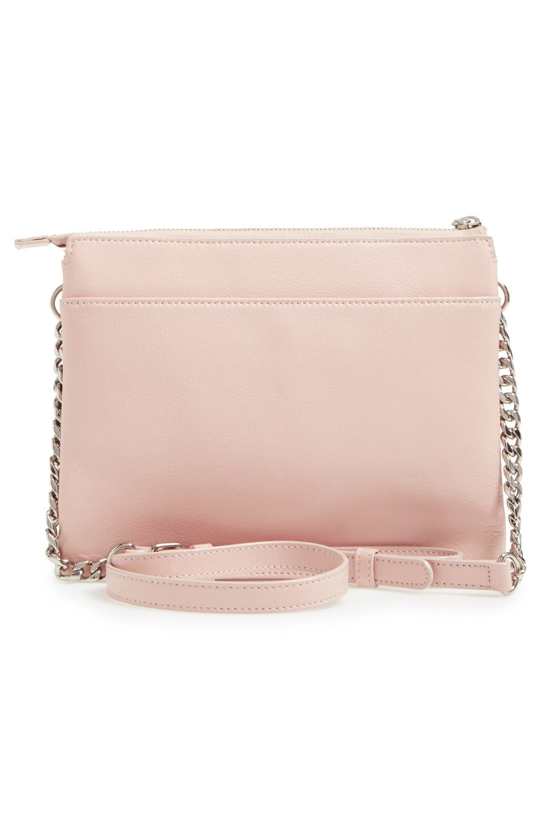 Alternate Image 3  - Halogen® Leather Crossbody Bag