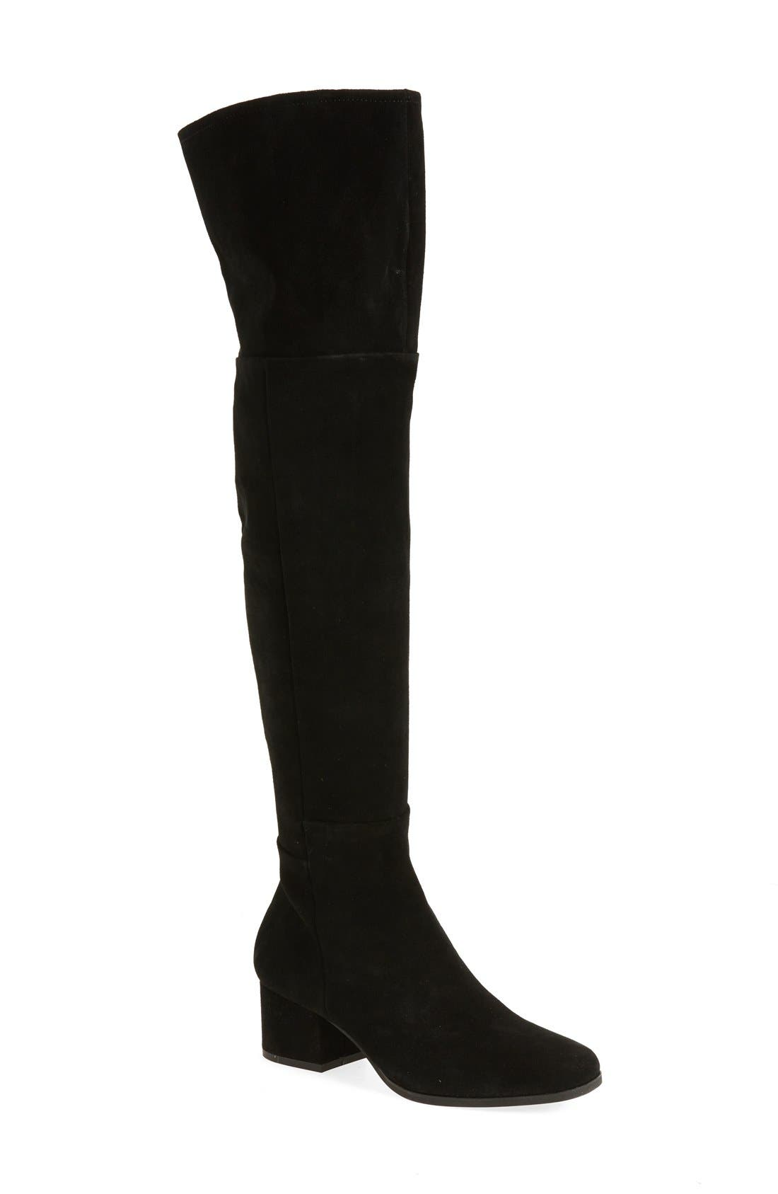 Main Image - Steven by Steve Madden Phaser Over the Knee Boot (Women)