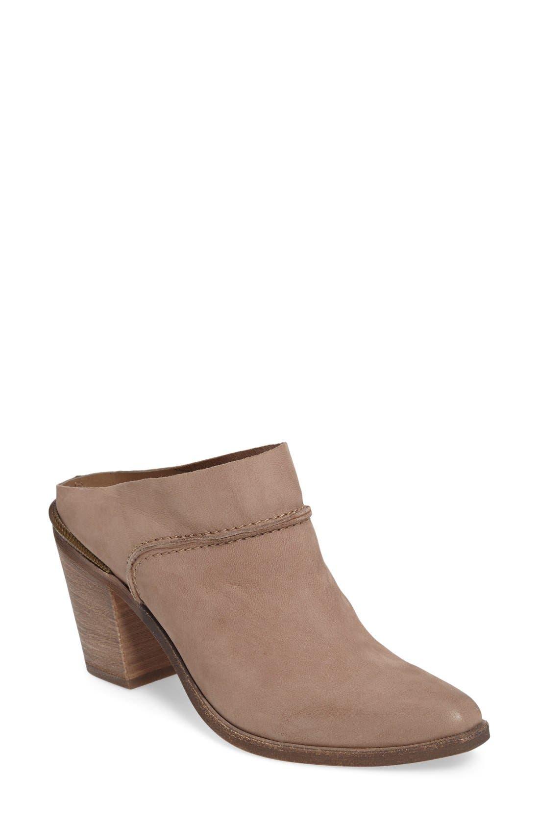 Alternate Image 1 Selected - Dolce Vita Wes Block Heel Mule (Women)