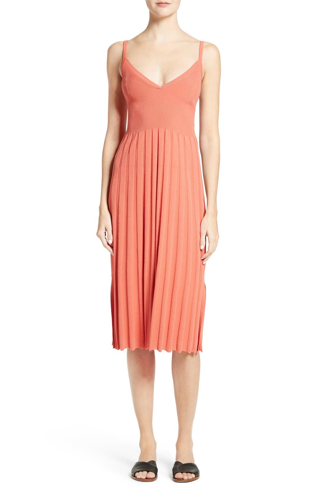 Elizabeth and James Bonnie Pleated Slipdress