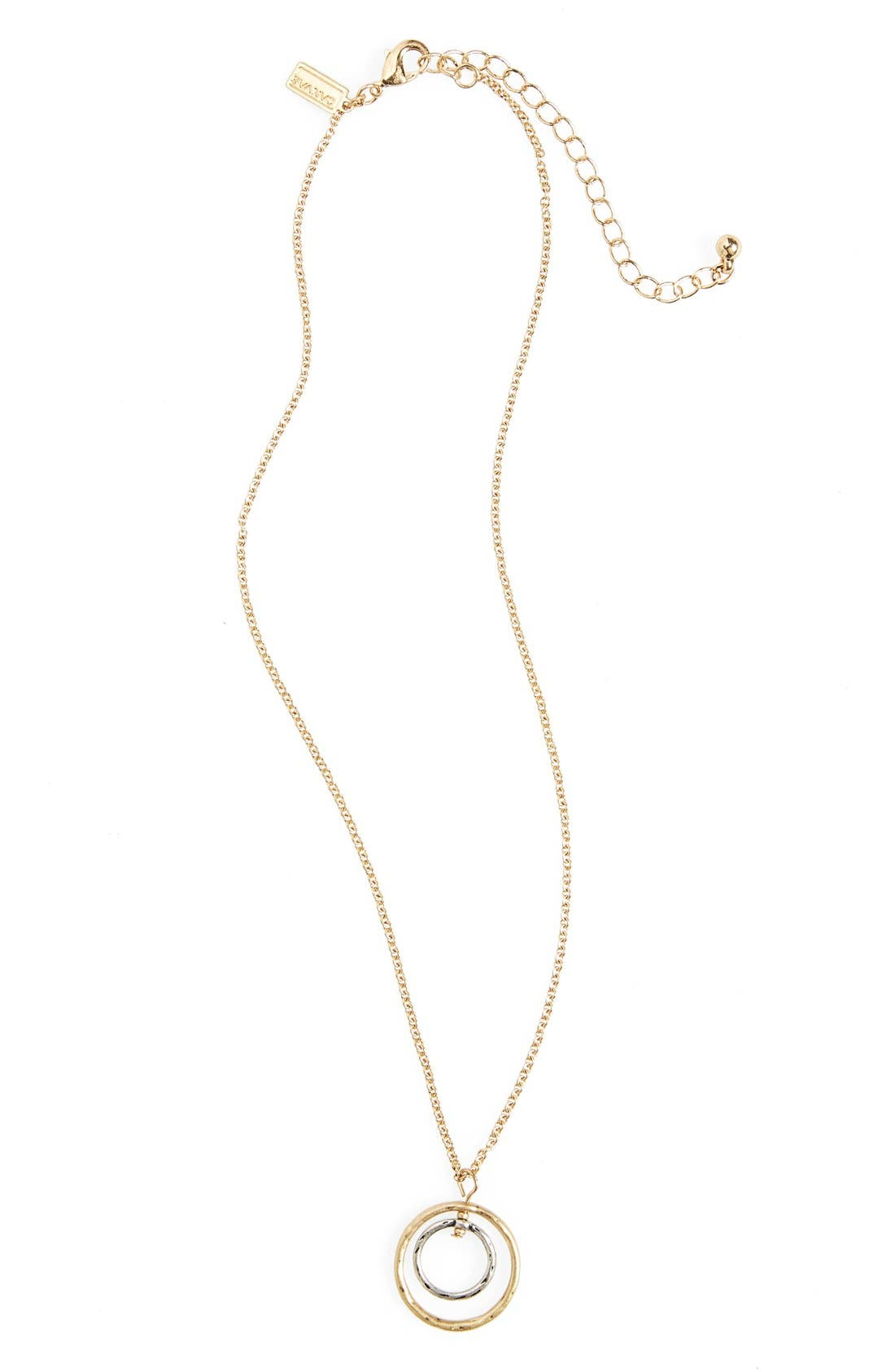 canvas jewelry open circle pendant necklace nordstrom