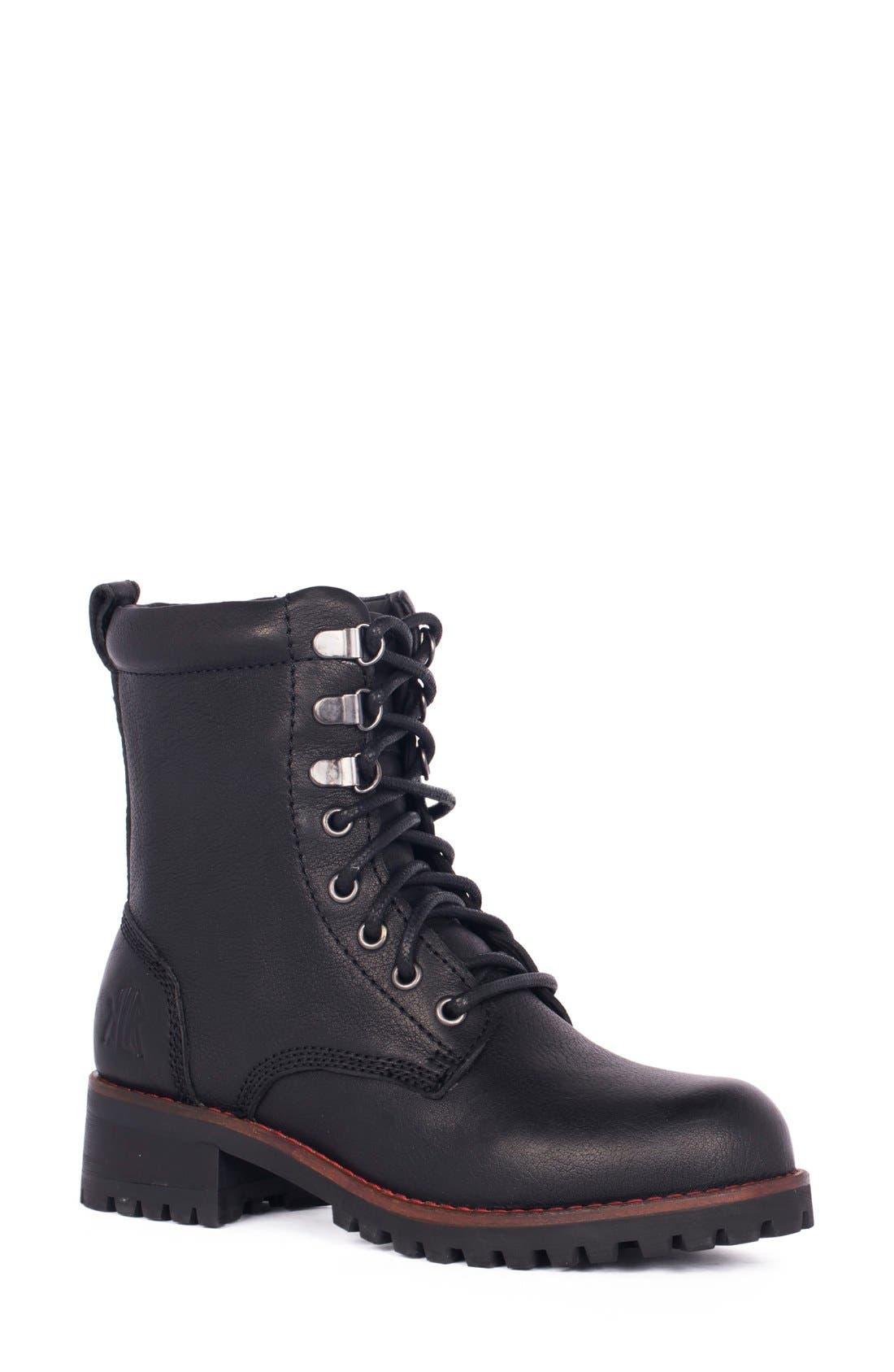 Alternate Image 1 Selected - KLR Chris Combat Boot (Women)