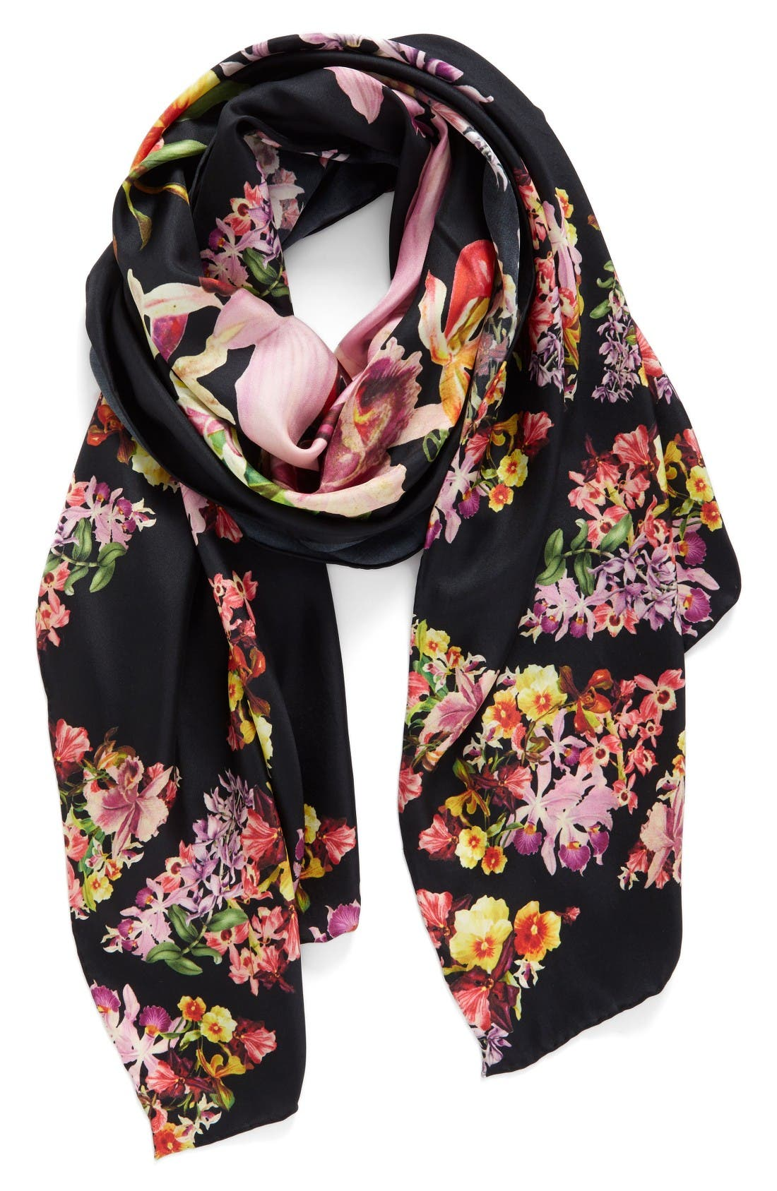 Alternate Image 1 Selected - Ted Baker London Lost Gardens Silk Scarf
