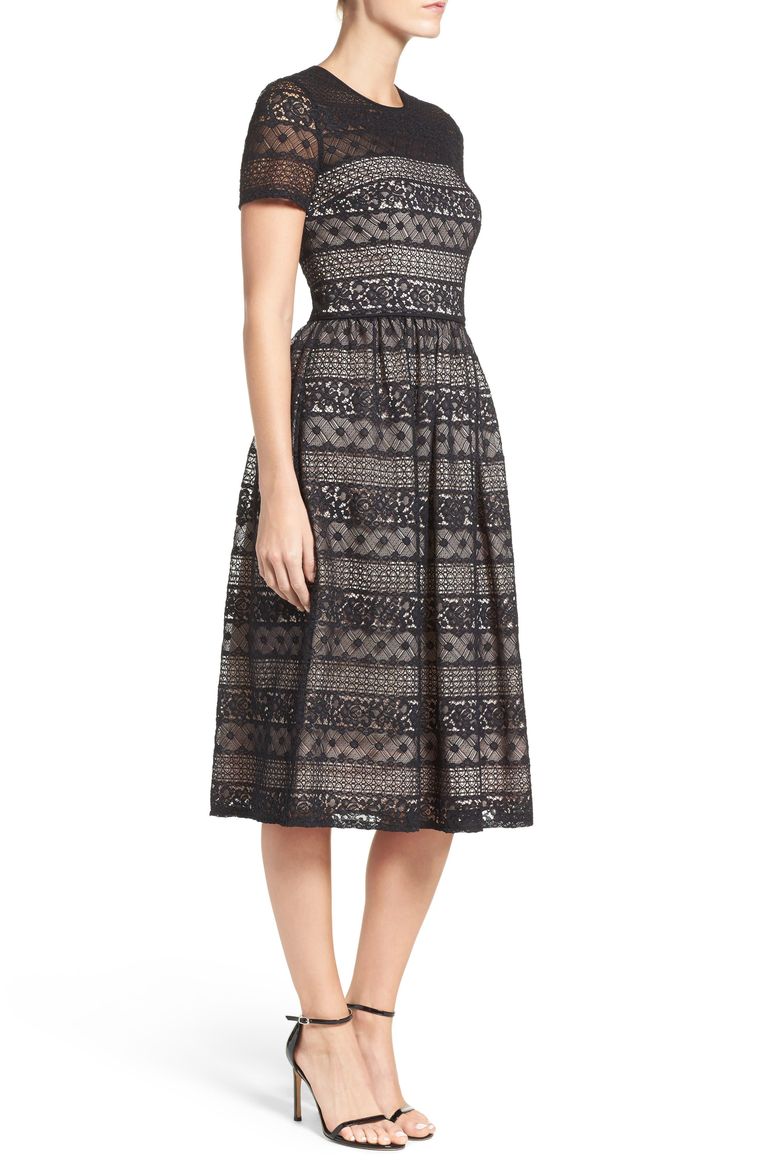 Alternate Image 3  - Maggy London Lace Midi Dress