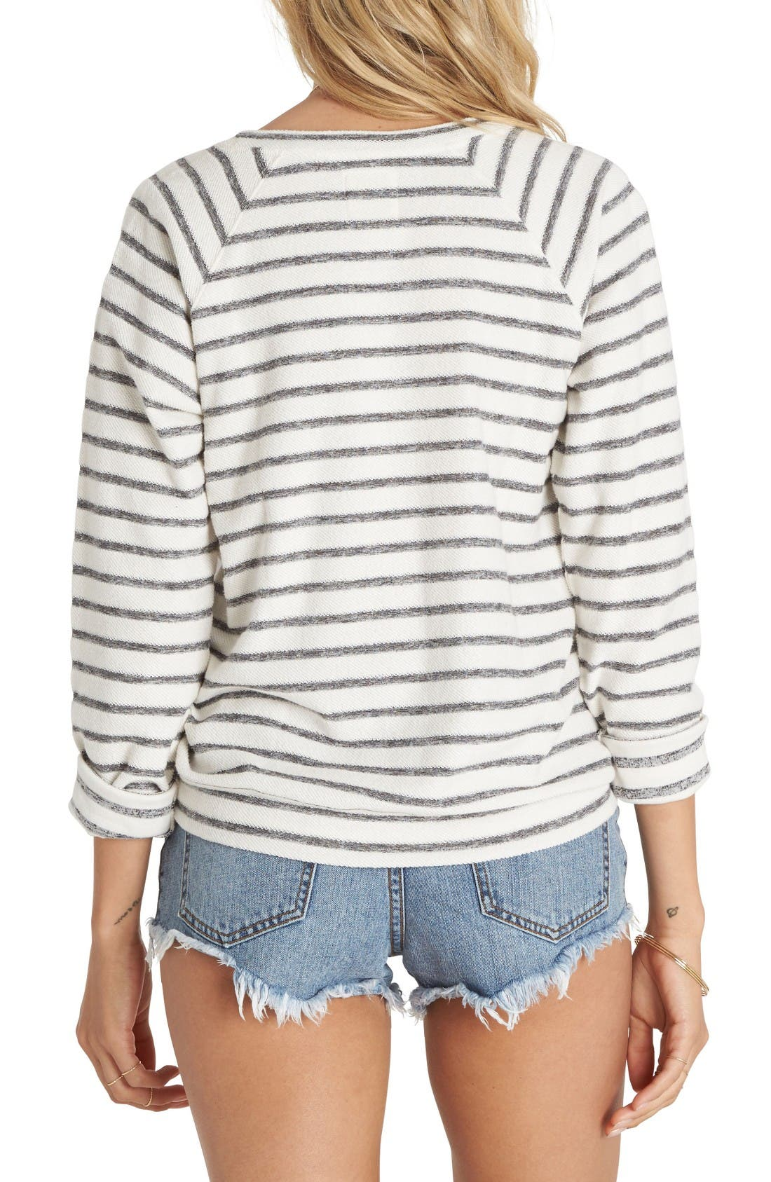 Alternate Image 2  - Billabong Hang Man Stripe Pullover