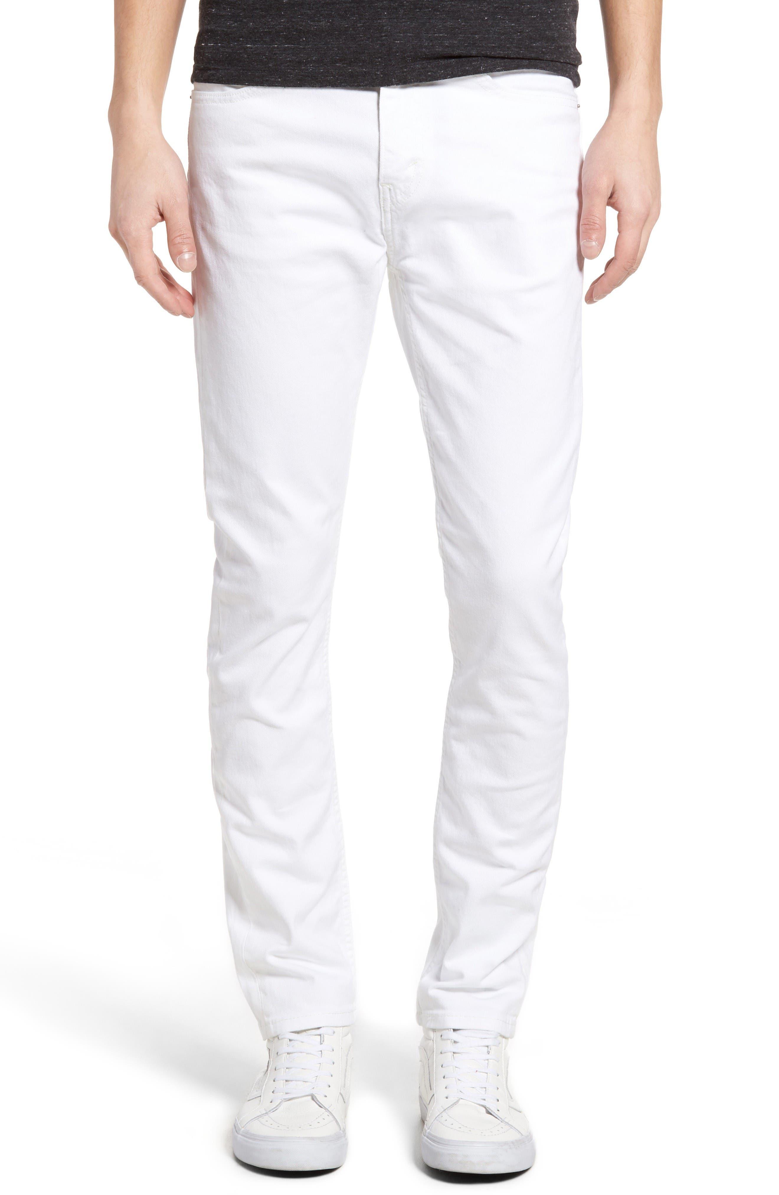 Alternate Image 1 Selected - Levi's® 510® Skinny Fit Jeans (White Bull Denim)