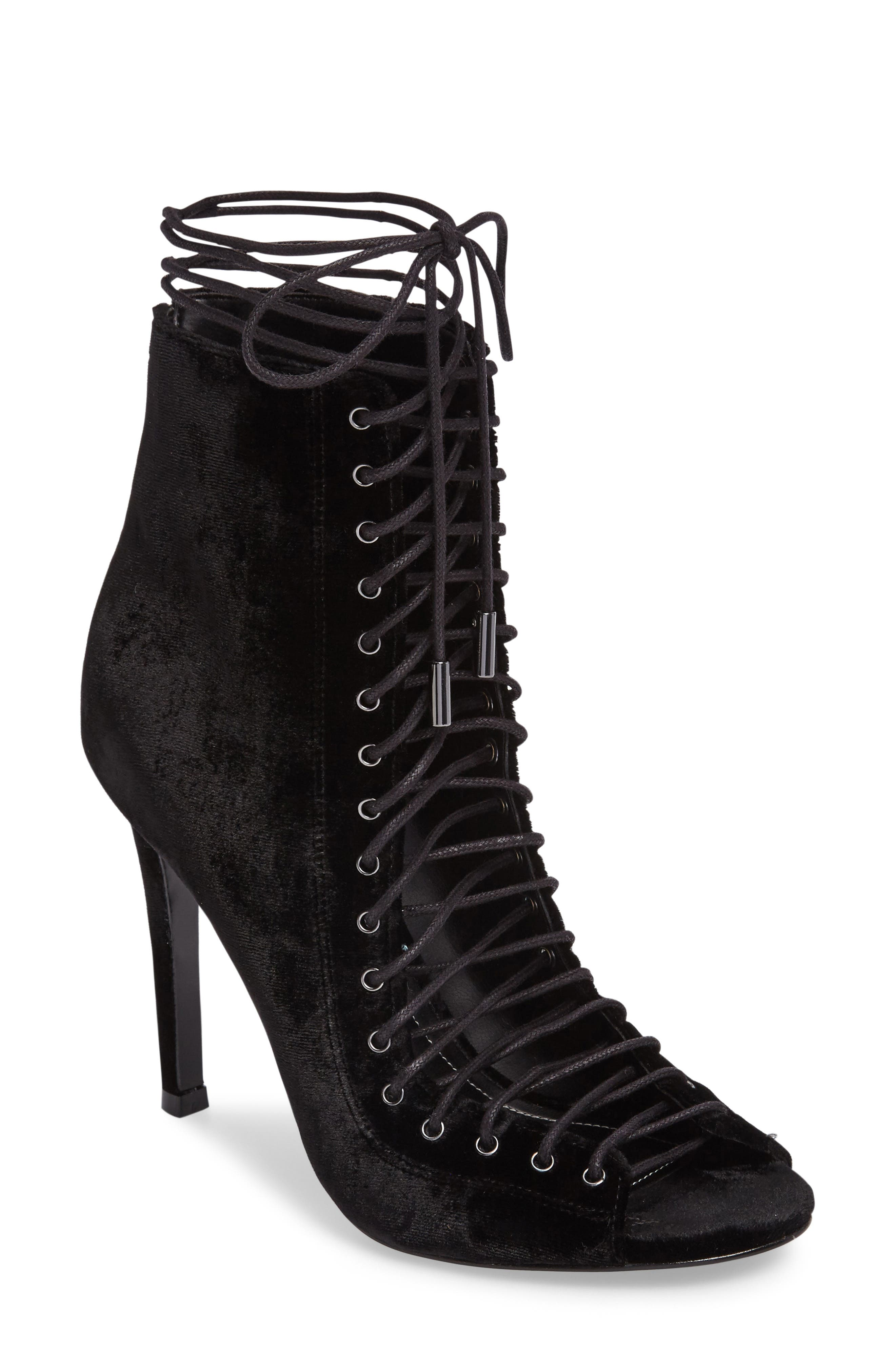 Alternate Image 1 Selected - KENDALL + KYLIE 'Ginny' Lace-Up Sandal (Women)