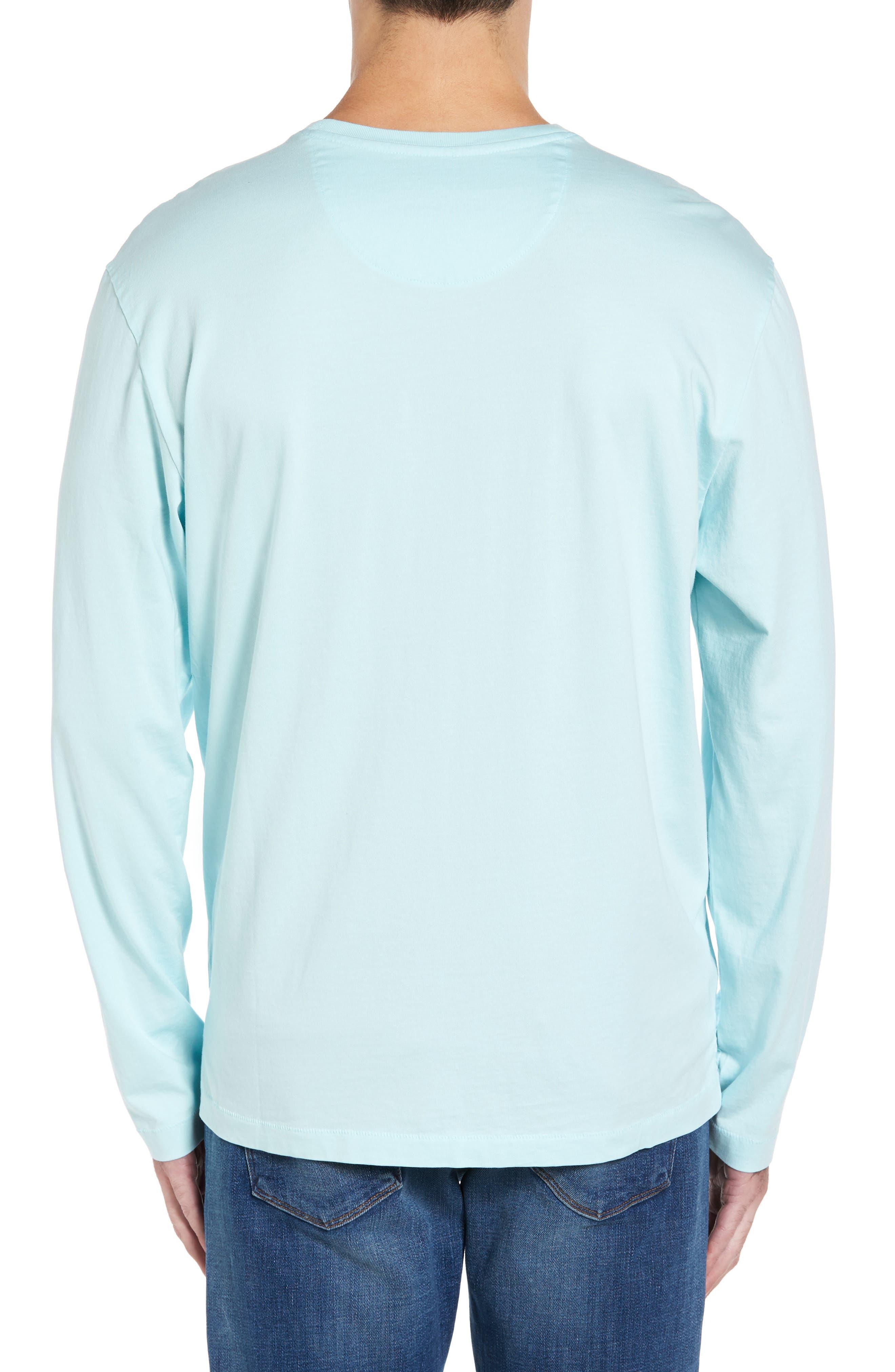 Alternate Image 2  - Tommy Bahama 'Bali Skyline' Long Sleeve Pima Cotton T-Shirt (Big & Tall)