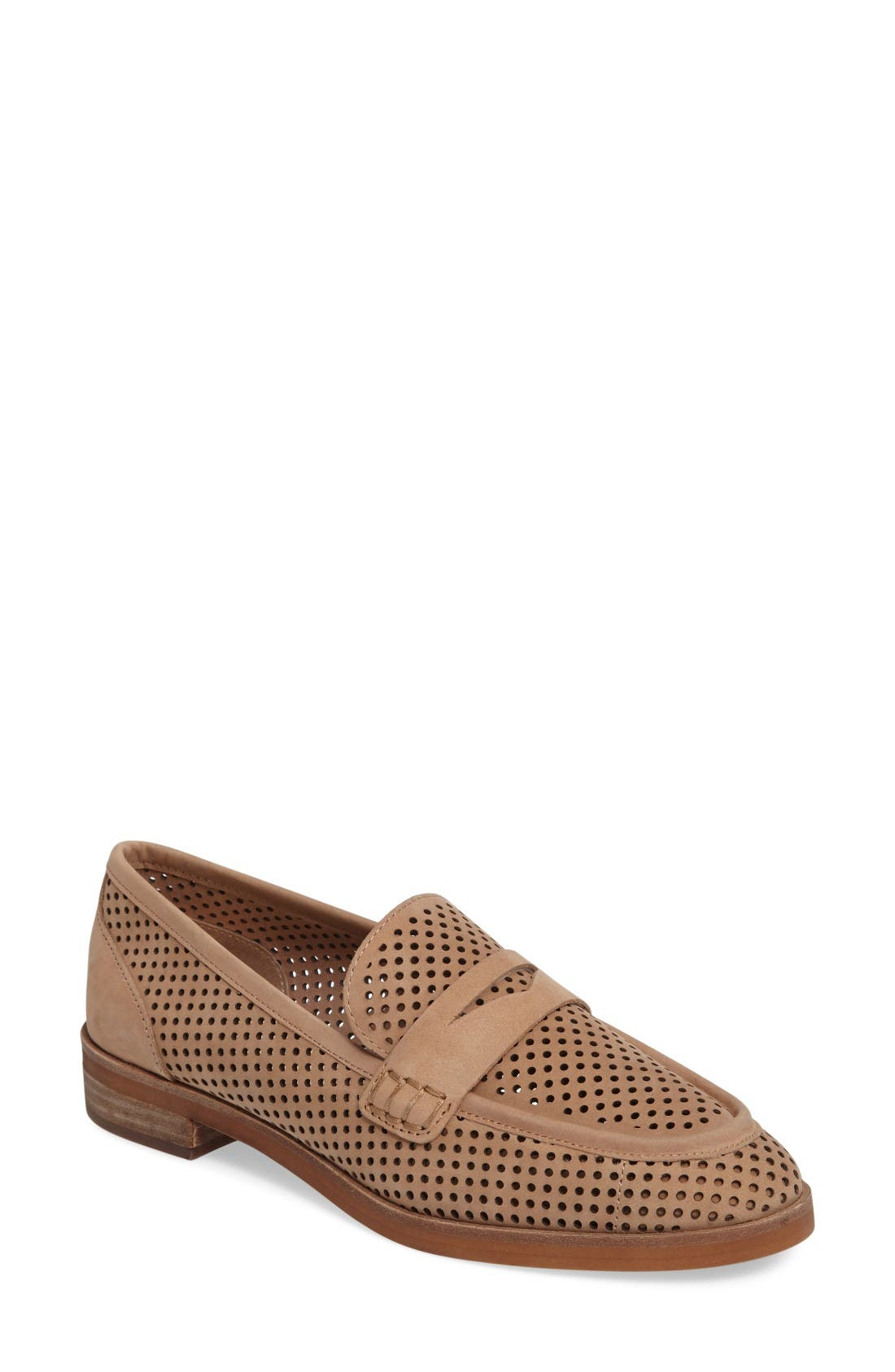 Vince Camuto Kanta Perforated Loafer (Women)