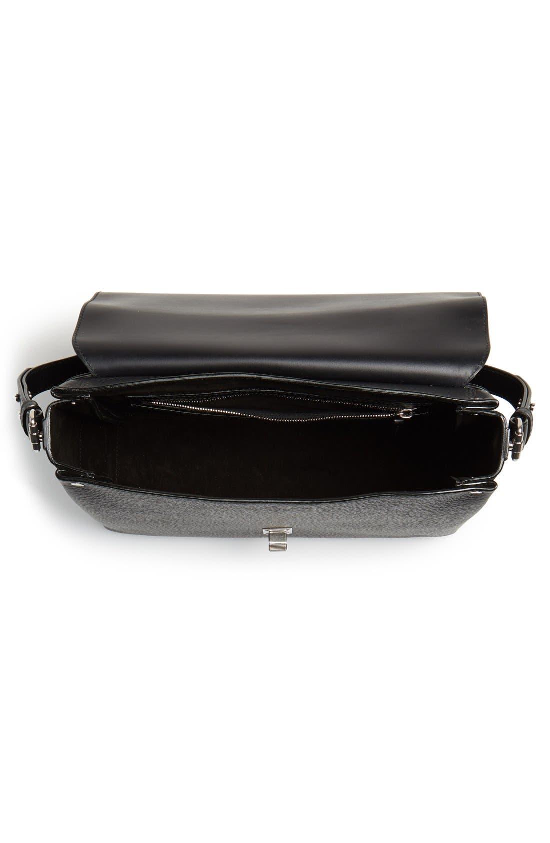 Alternate Image 3  - Proenza Schouler 'Elliot' Leather Shoulder Bag