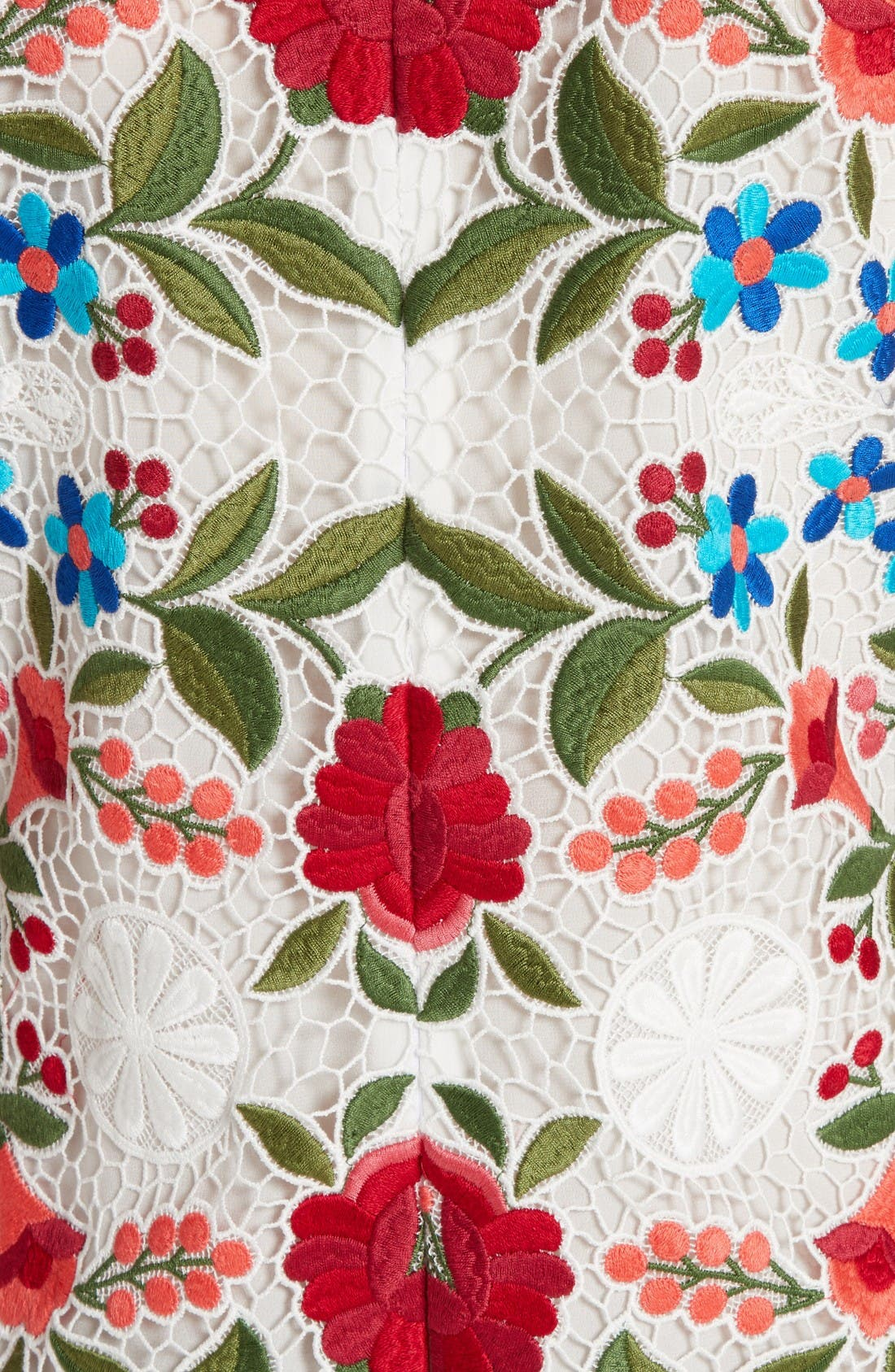 Alternate Image 3  - Burberry Carrie Embroidered Lace Dress