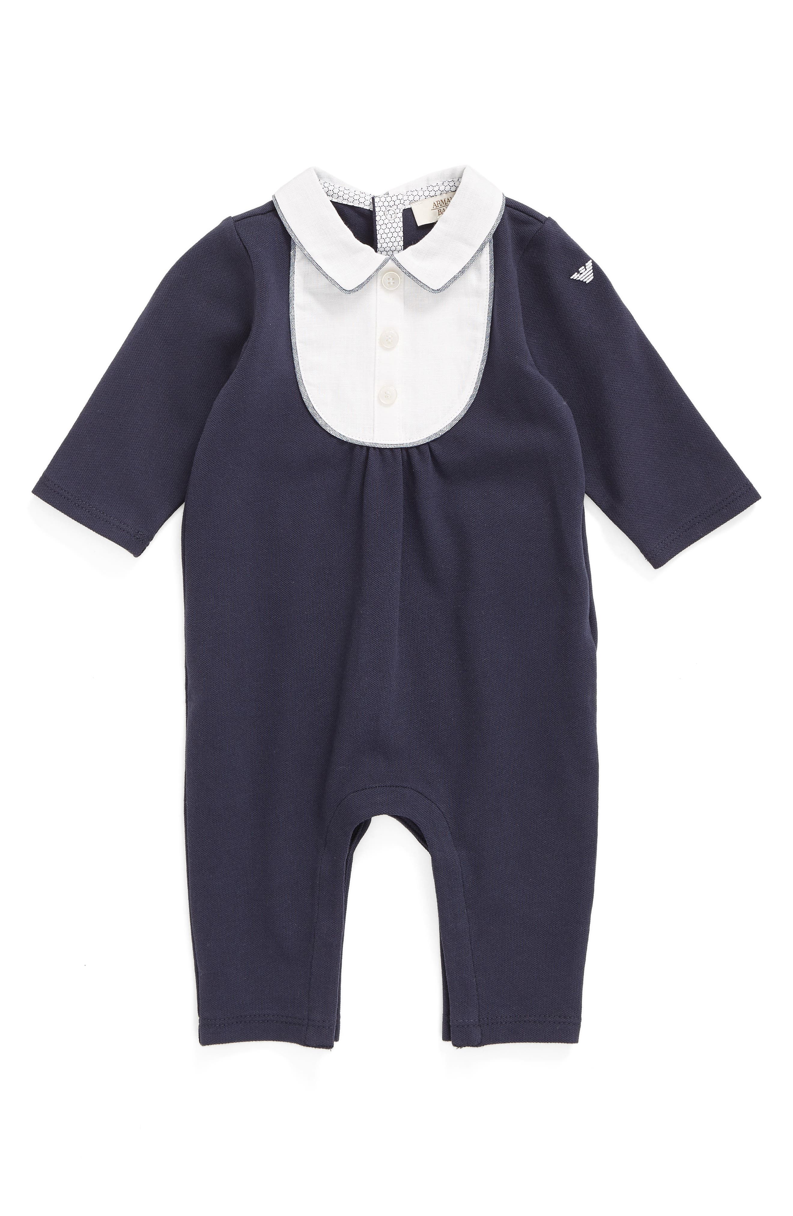 ARMANI JUNIOR Bibbed Romper