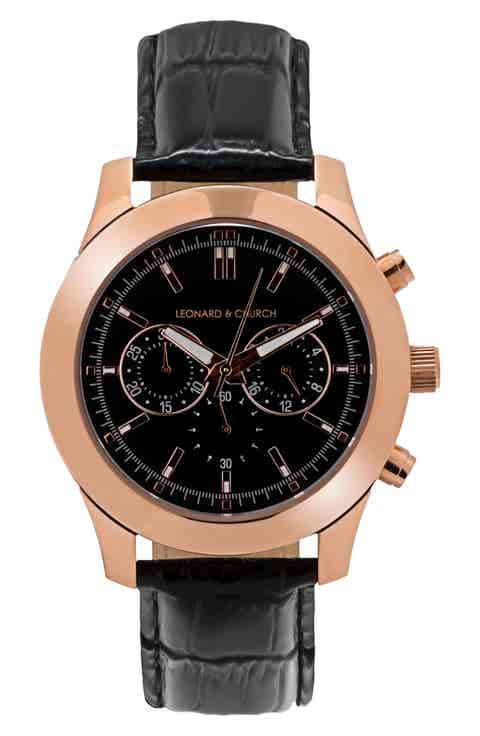 men 39 s leonard and church watches watches for men nordstrom