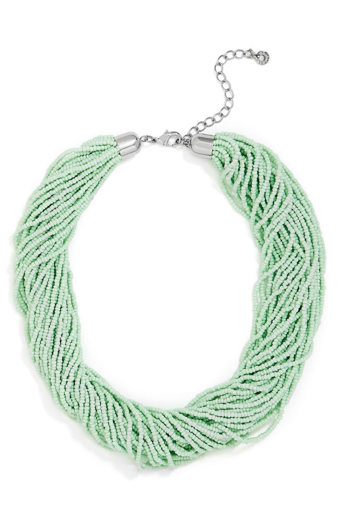 Alternate Image 1 Selected - BaubleBar Myra Beaded Collar