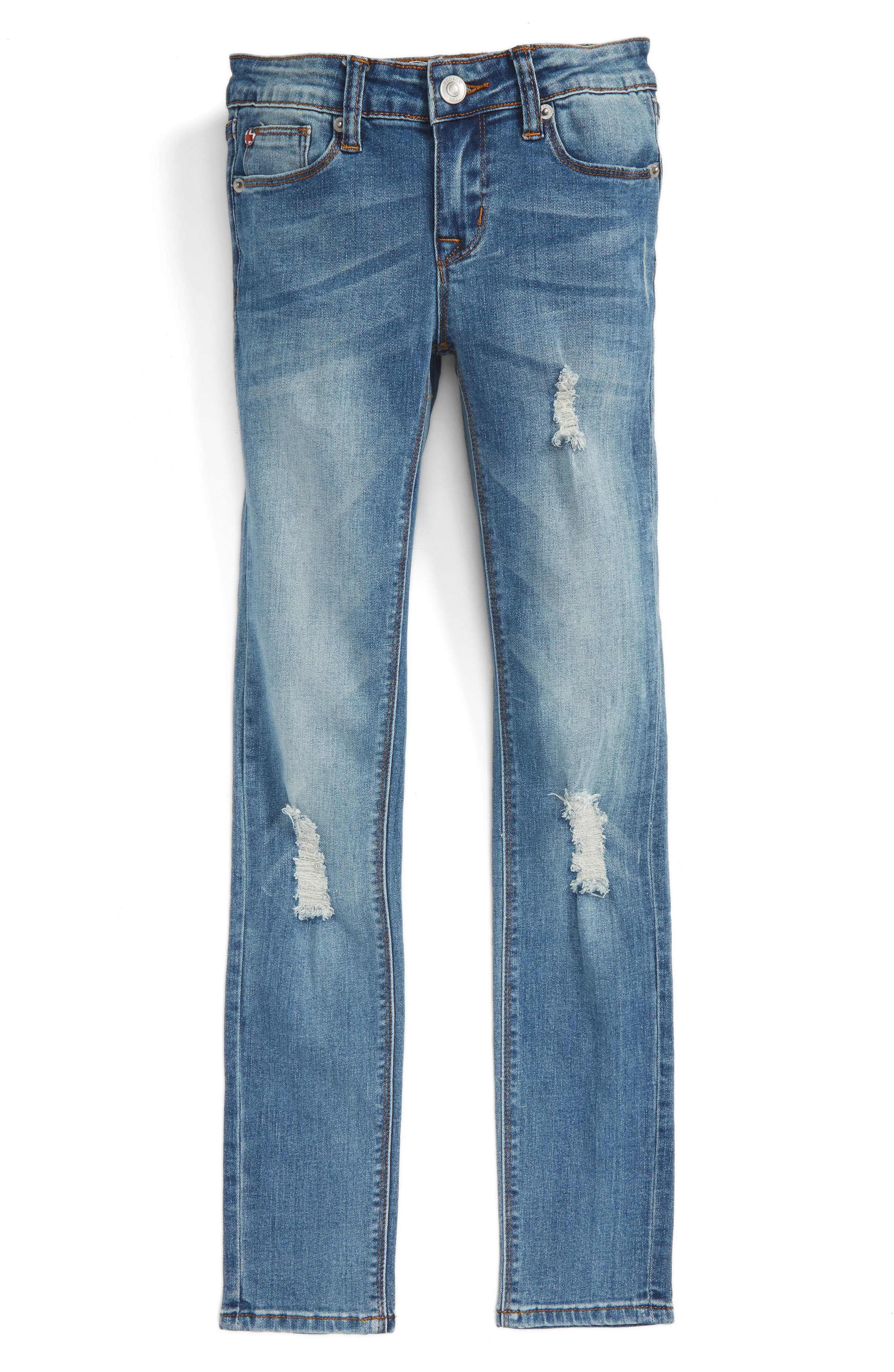 HUDSON KIDS Dolly Destroyed Skinny Jeans