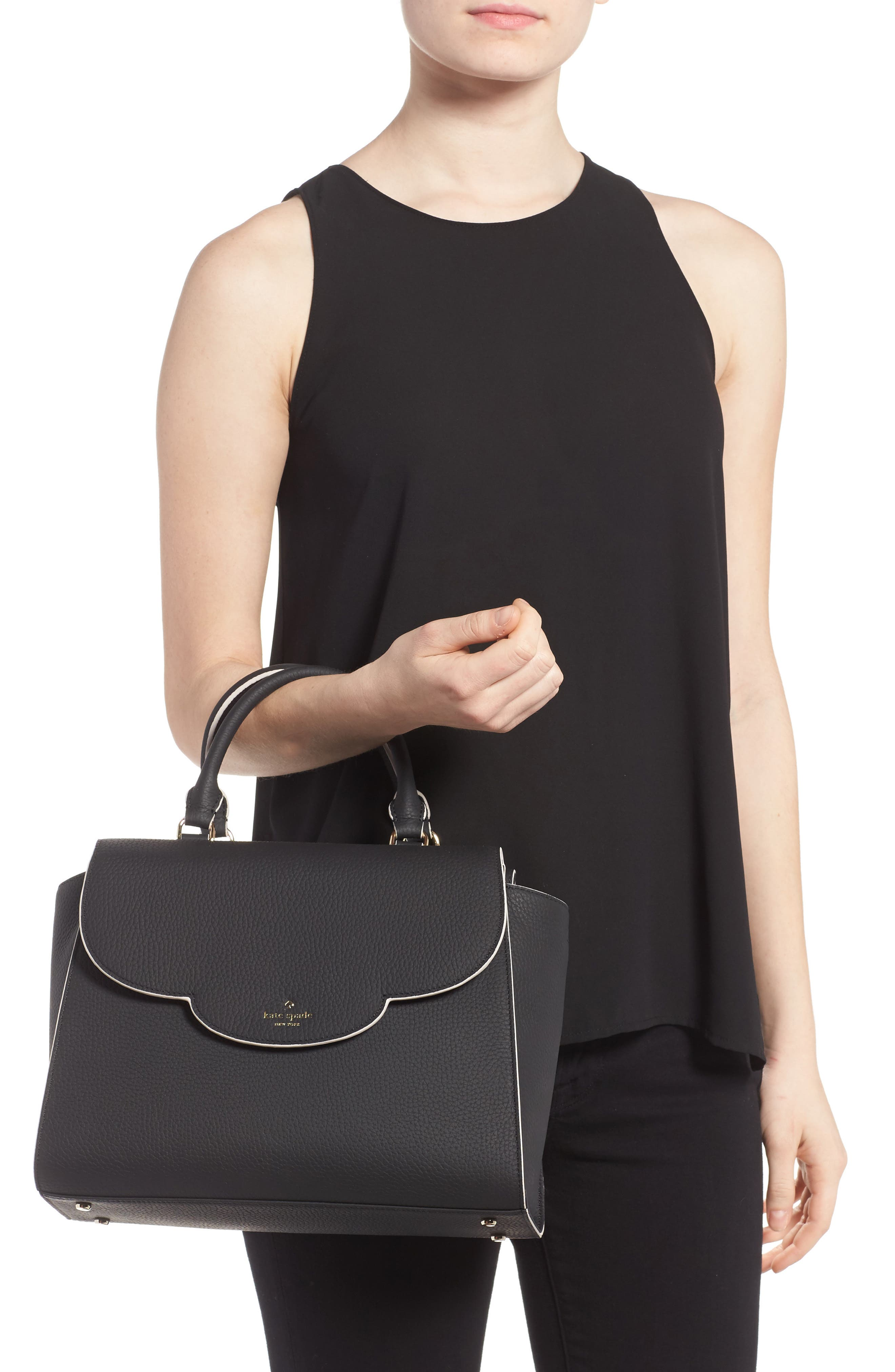 Alternate Image 2  - kate spade new york leewood place makayla leather satchel