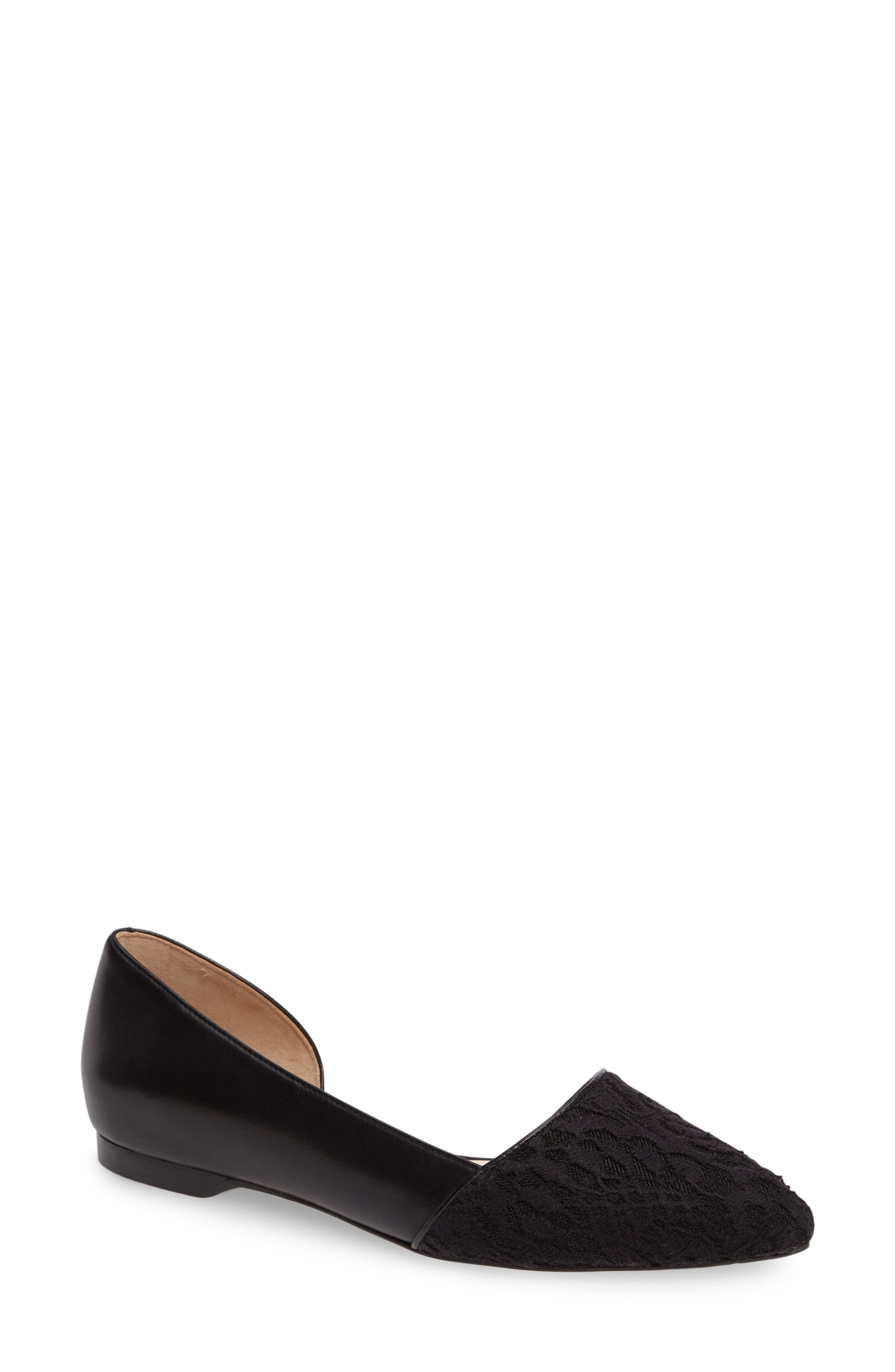 Alternate Image 1 Selected - Cole Haan 'Amalia' Half d'Orsay Skimmer Flat (Women)