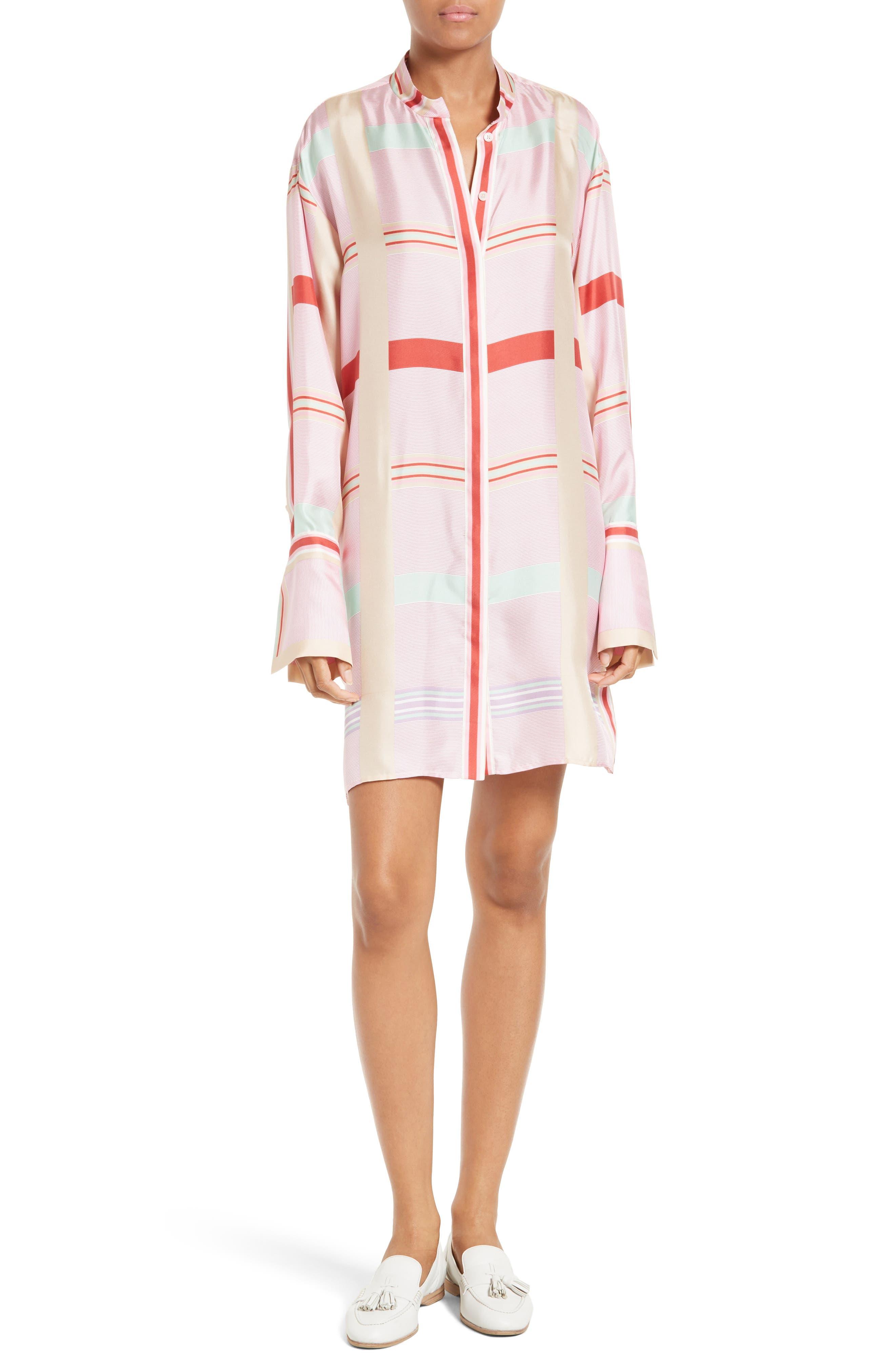 Alternate Image 1 Selected - Diane von Furstenberg Silk Shirtdress