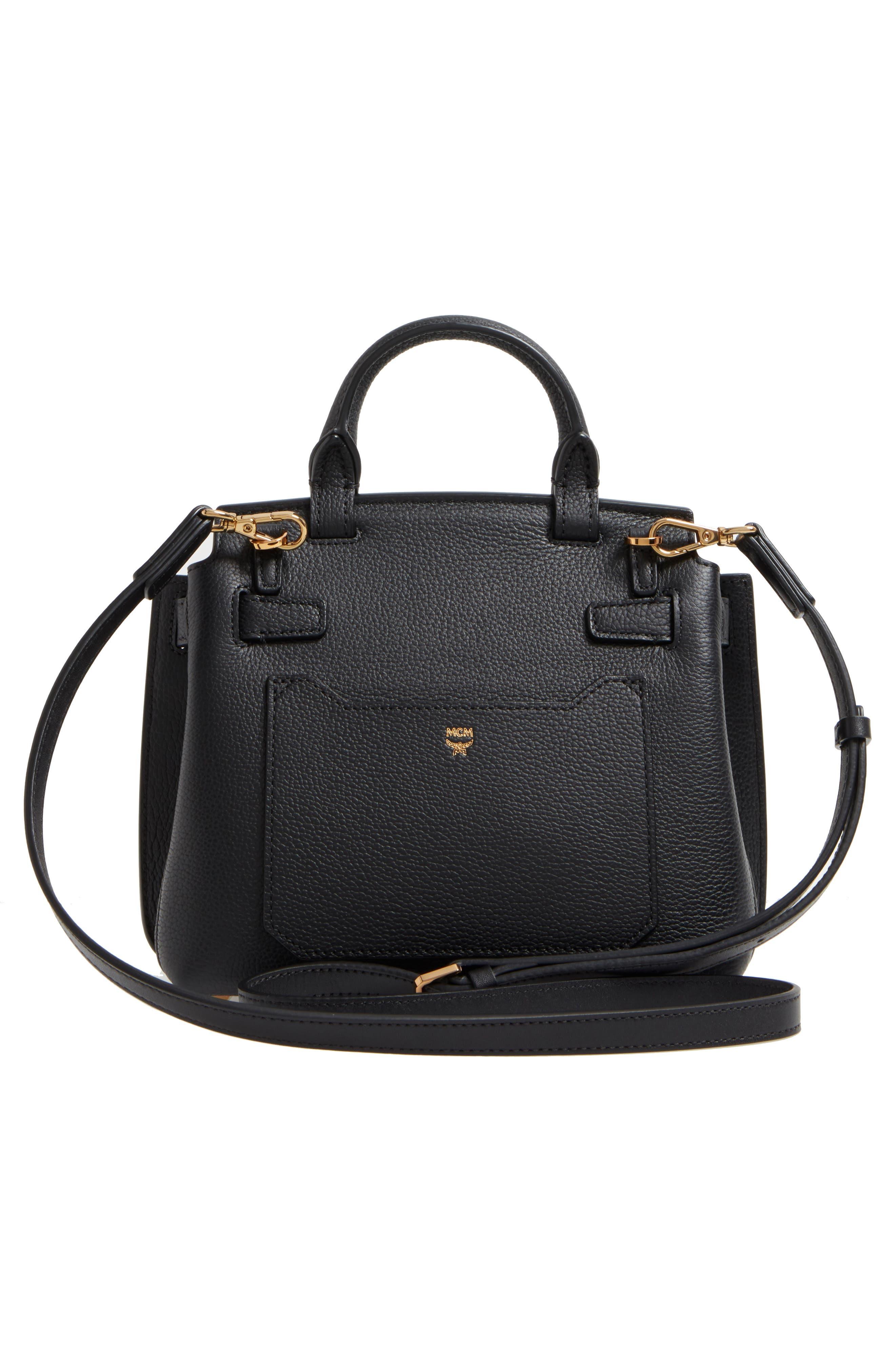 Alternate Image 3  - MCM Milla Leather Crossbody Bag
