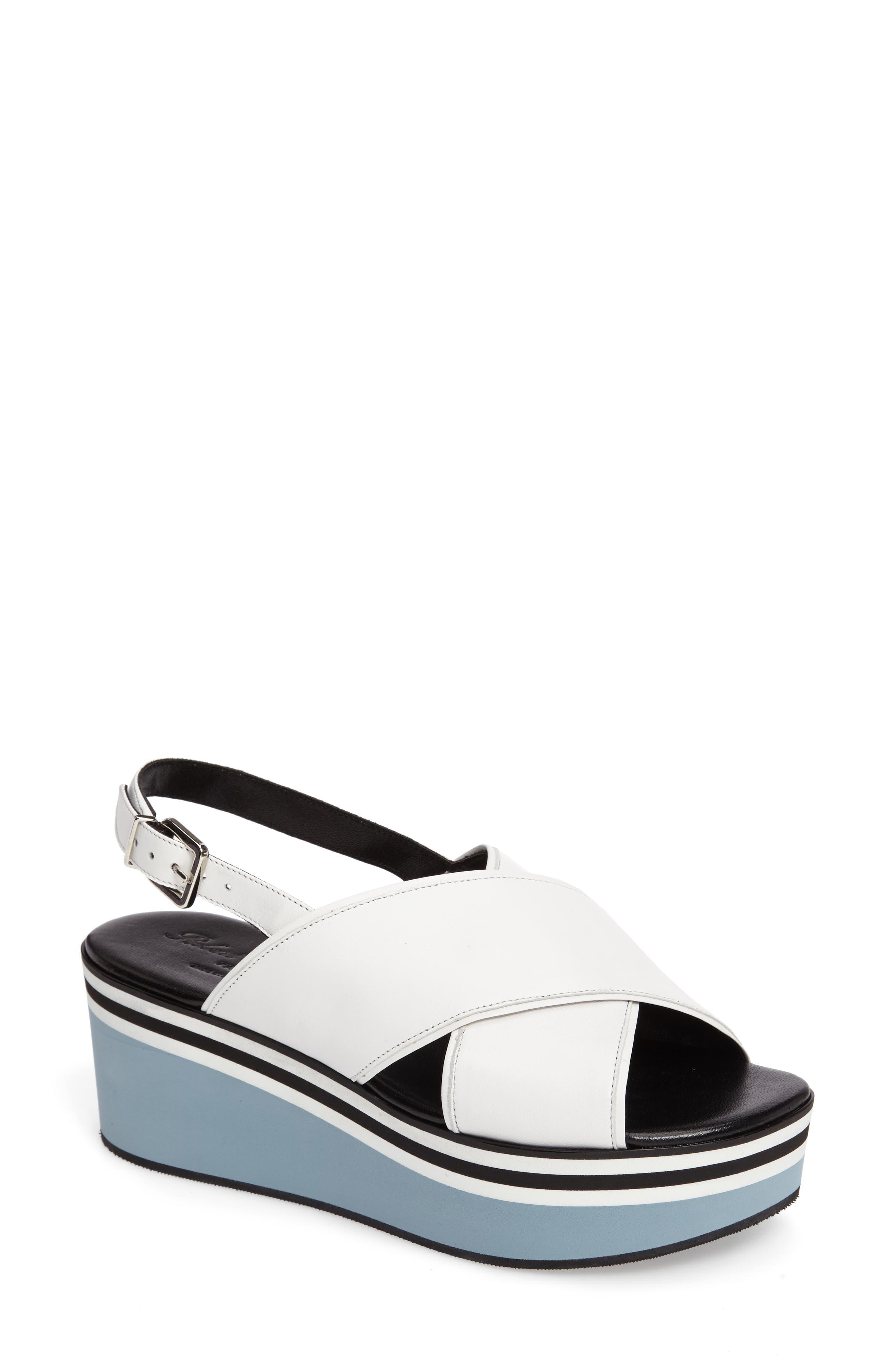 Alternate Image 1 Selected - Robert Clergerie Pupla Platform Sandal (Women)