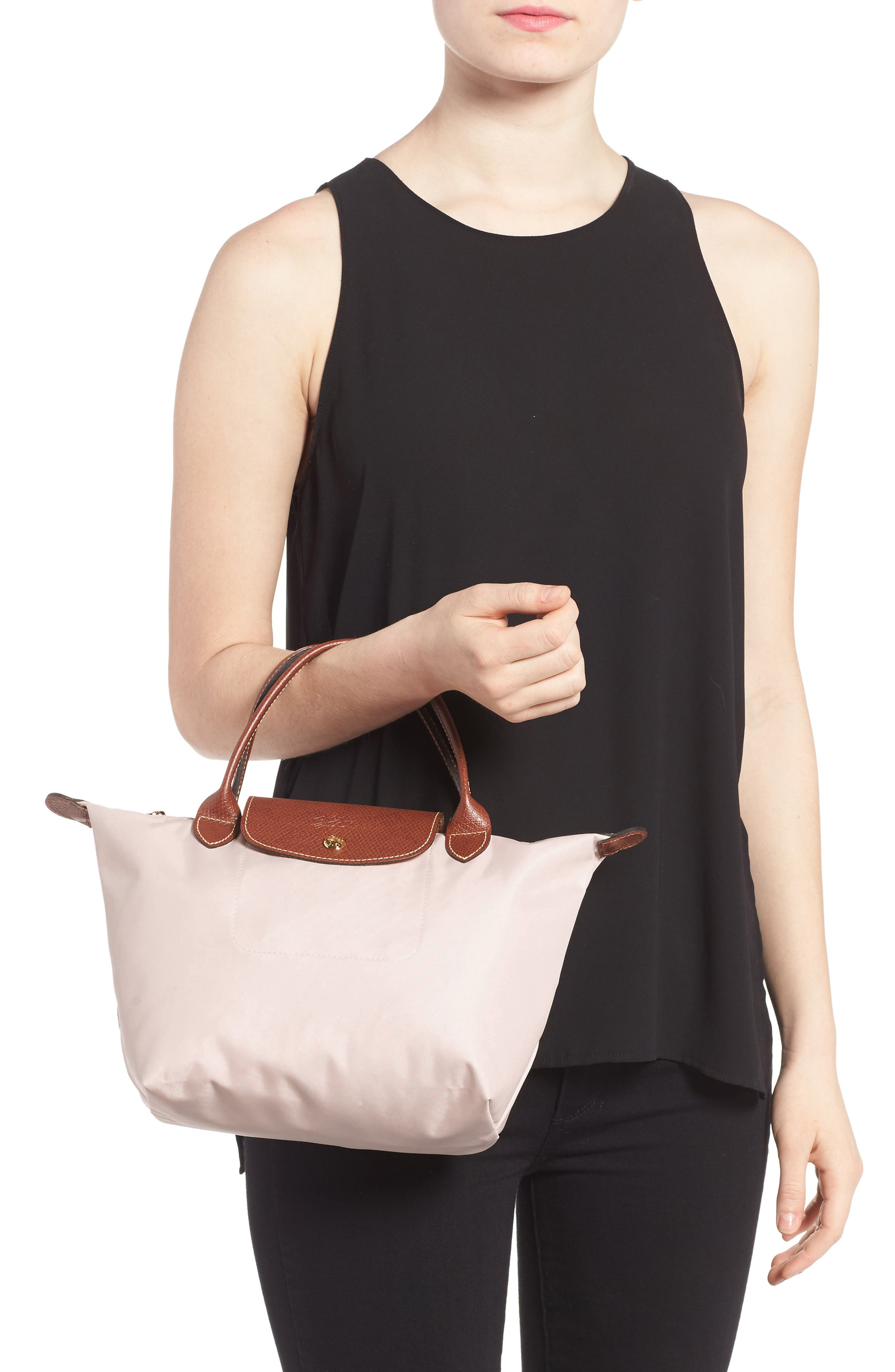 Alternate Image 2  - Longchamp 'Mini Le Pliage' Handbag